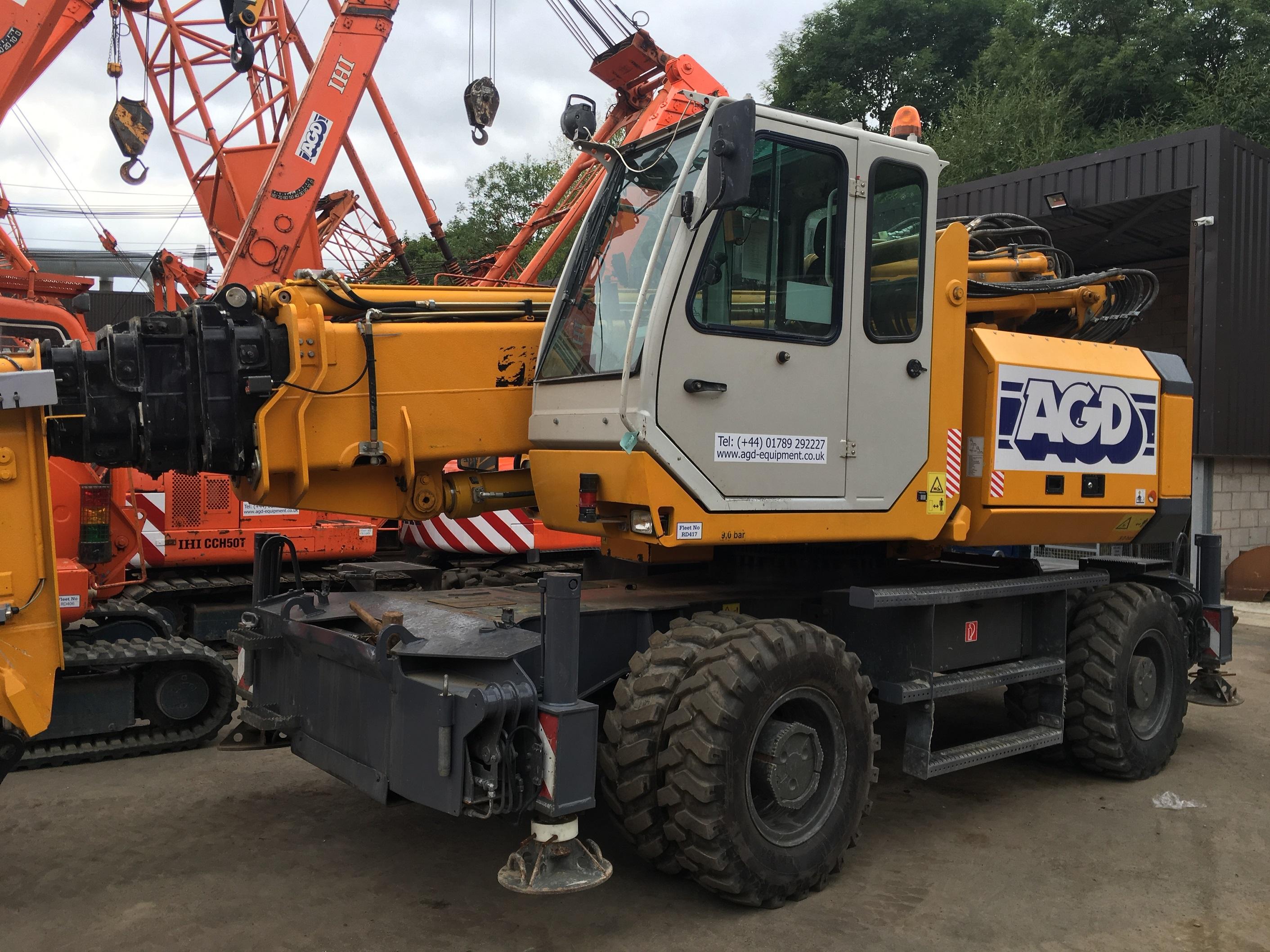Used Sennebogen 608M multi crane for sale