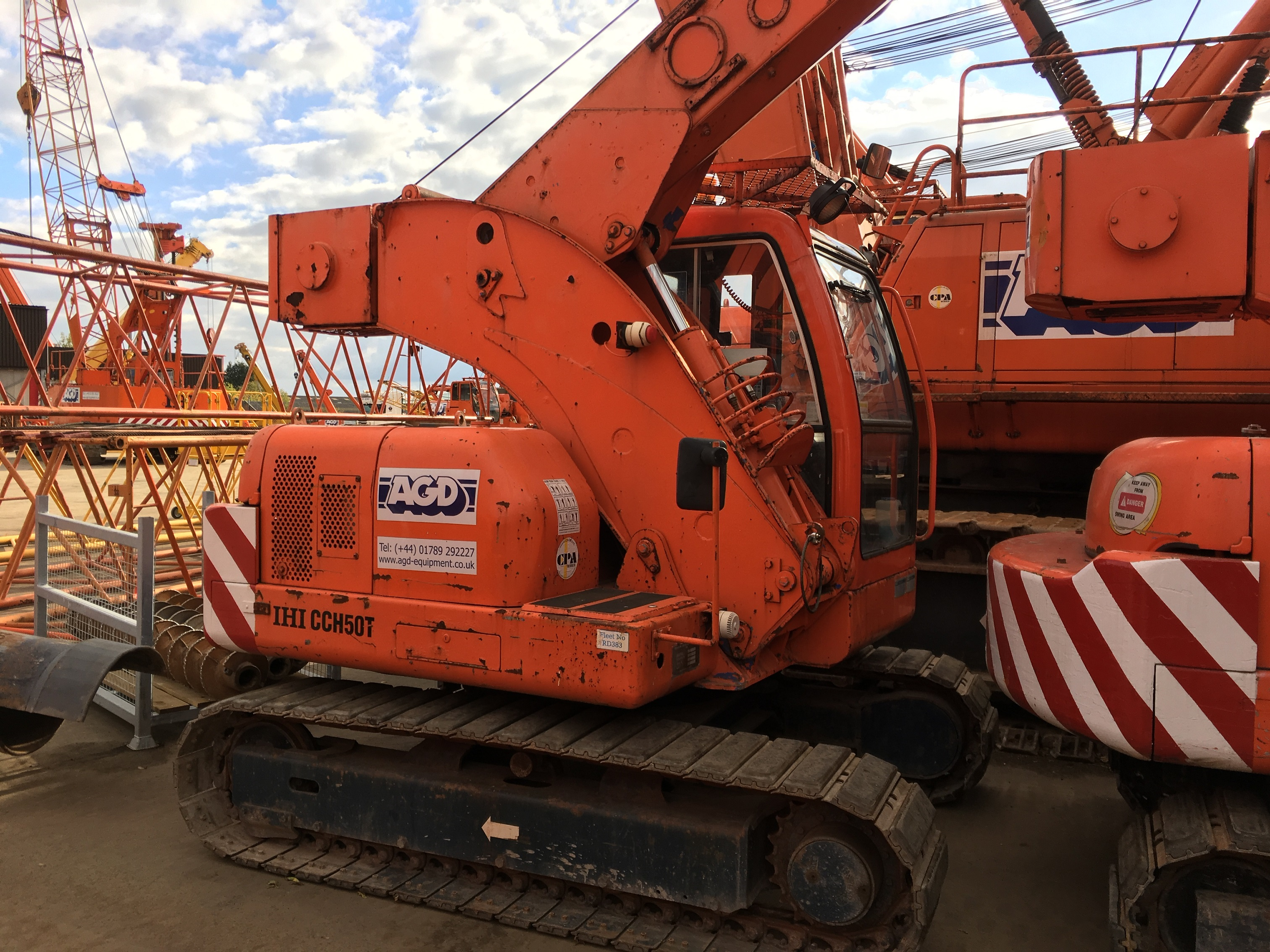 Used IHI CCH50T mini crane for sale