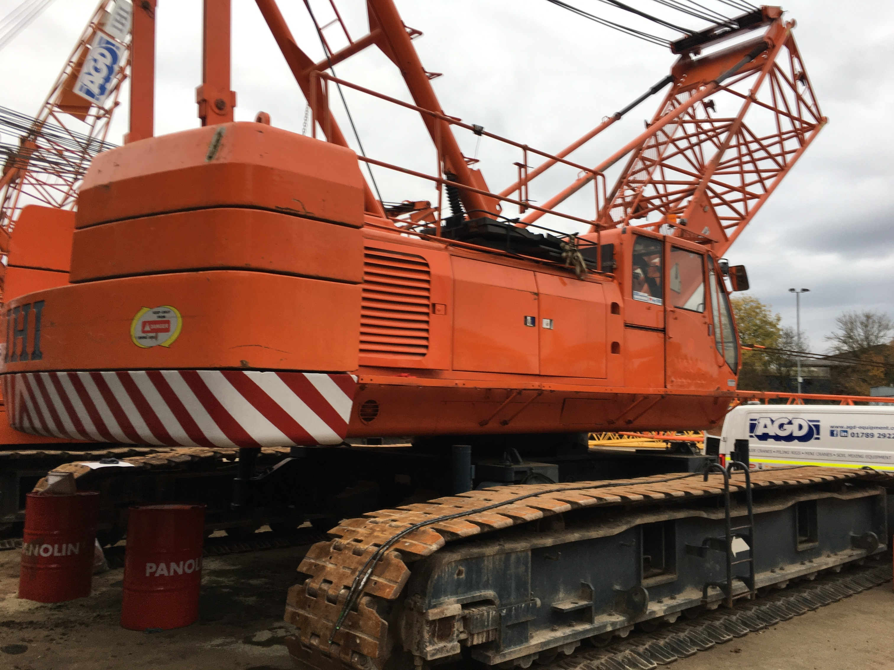 Used IHI CCH1200 120 tons crawler crane for sale