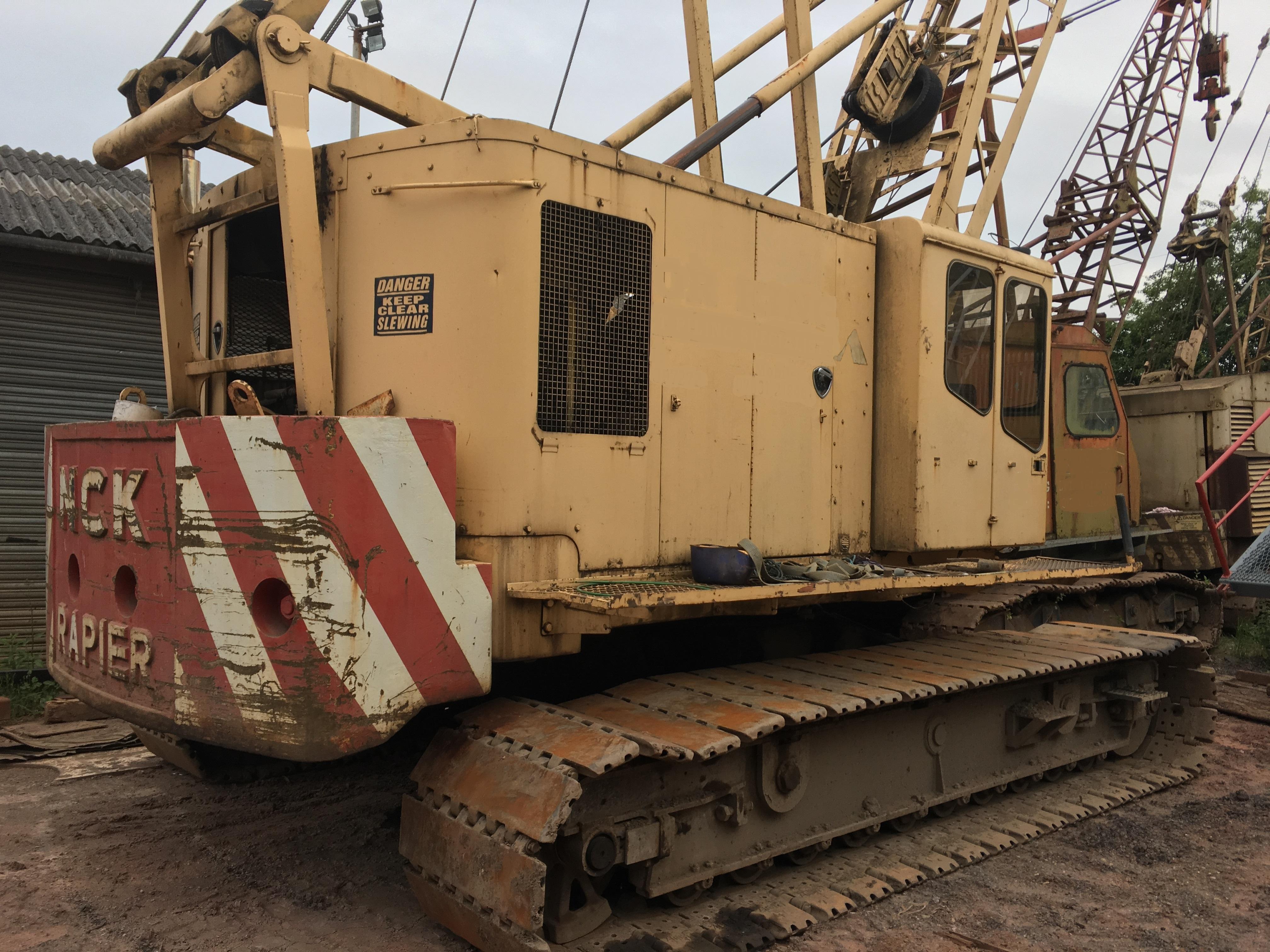 Used NCK Andes C41C 41 tons lattice boom crawler crane for sale
