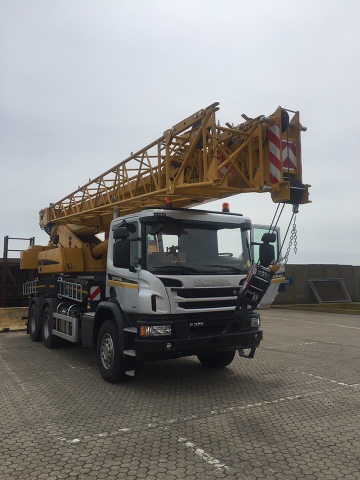 Marchetti MTK40 truck crane Vertikal Days