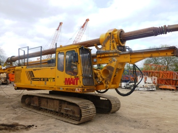 Used Mait HR130 bored piling rig for sale
