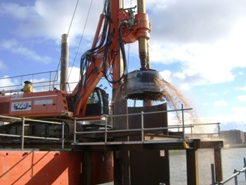 Bored Piling Rig Hire