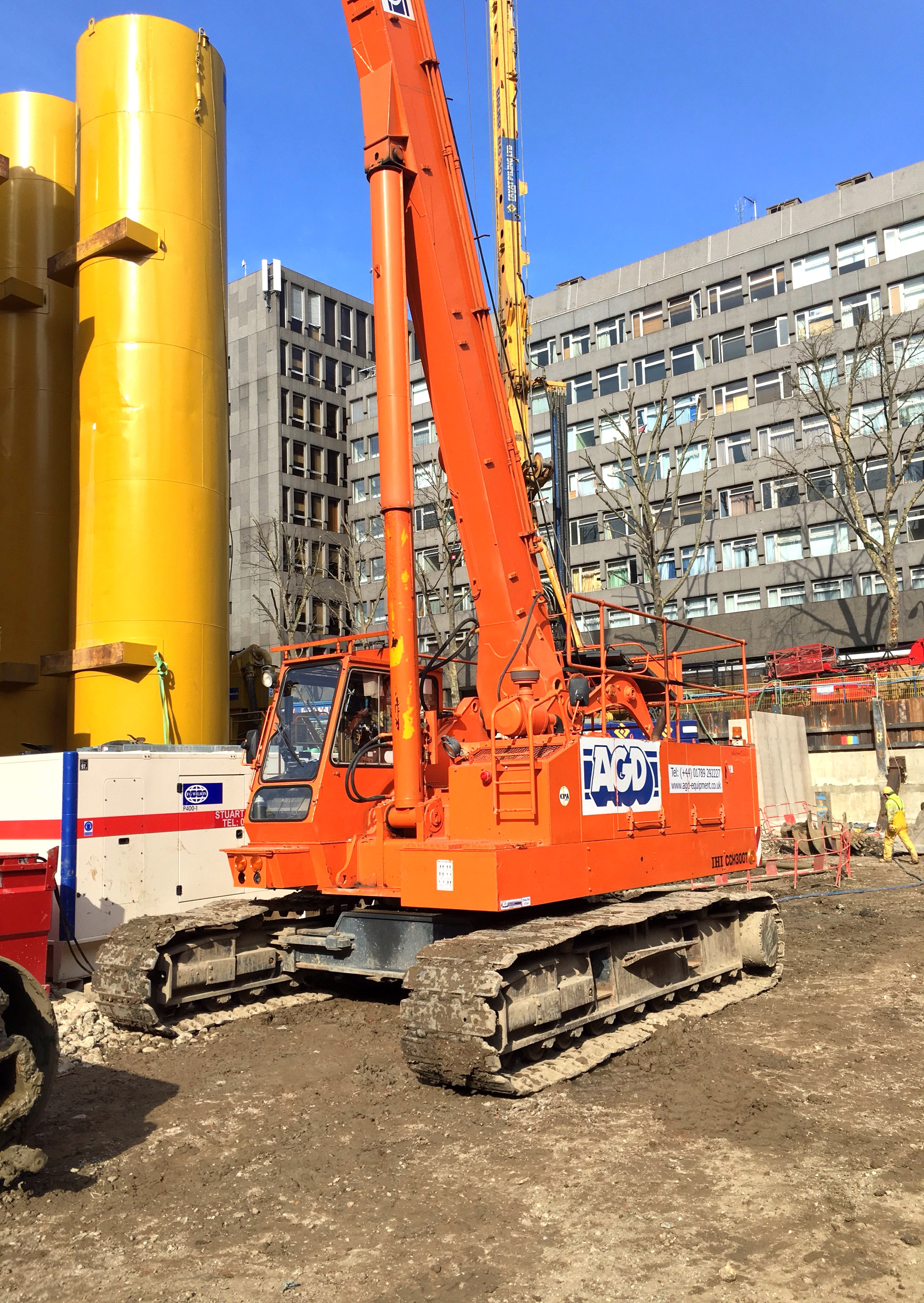 Used IHI CCH300T telescopic crawler crane for sale