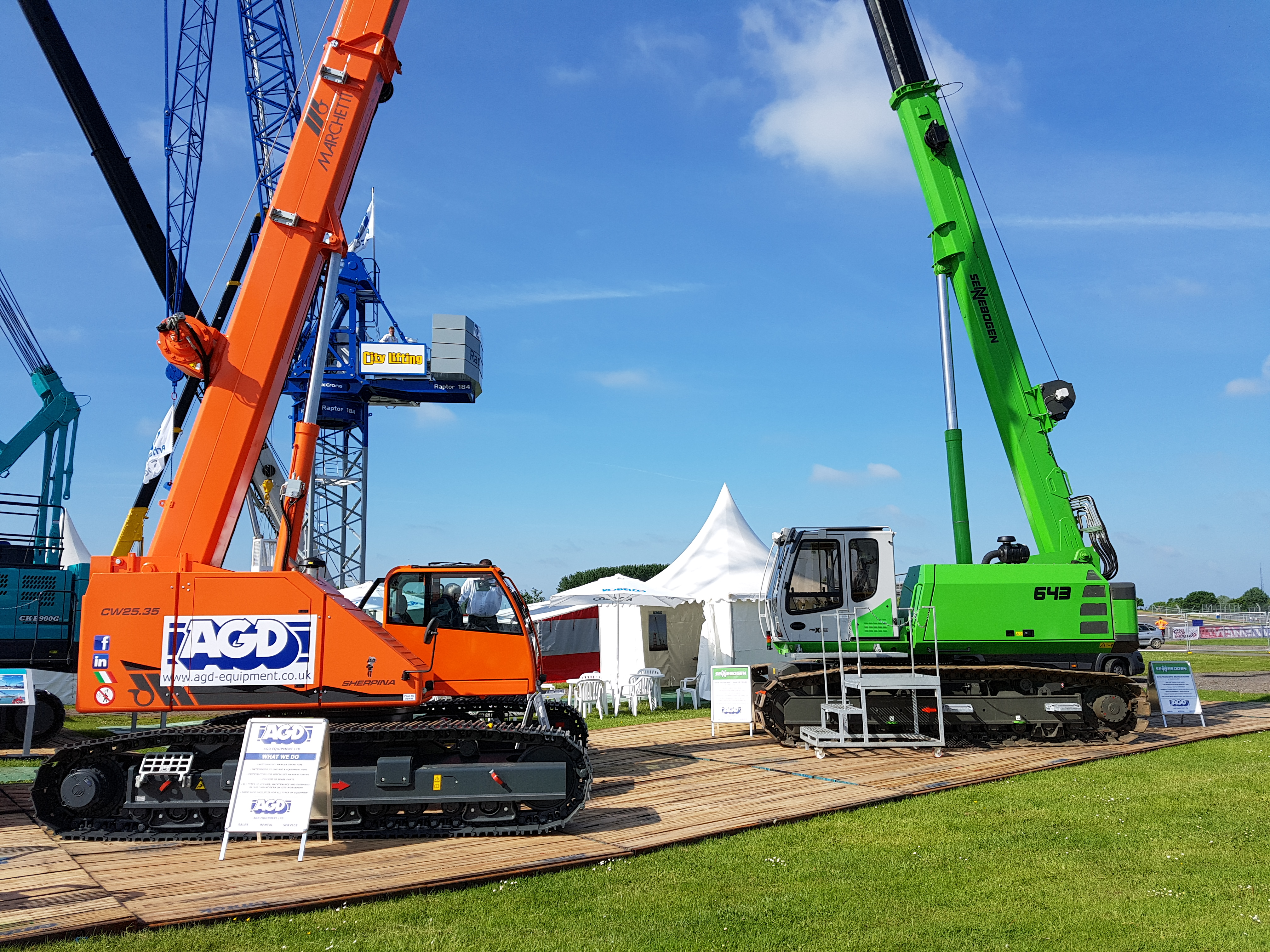 AGD exhibits at Vertikal Days Silverstone 2017