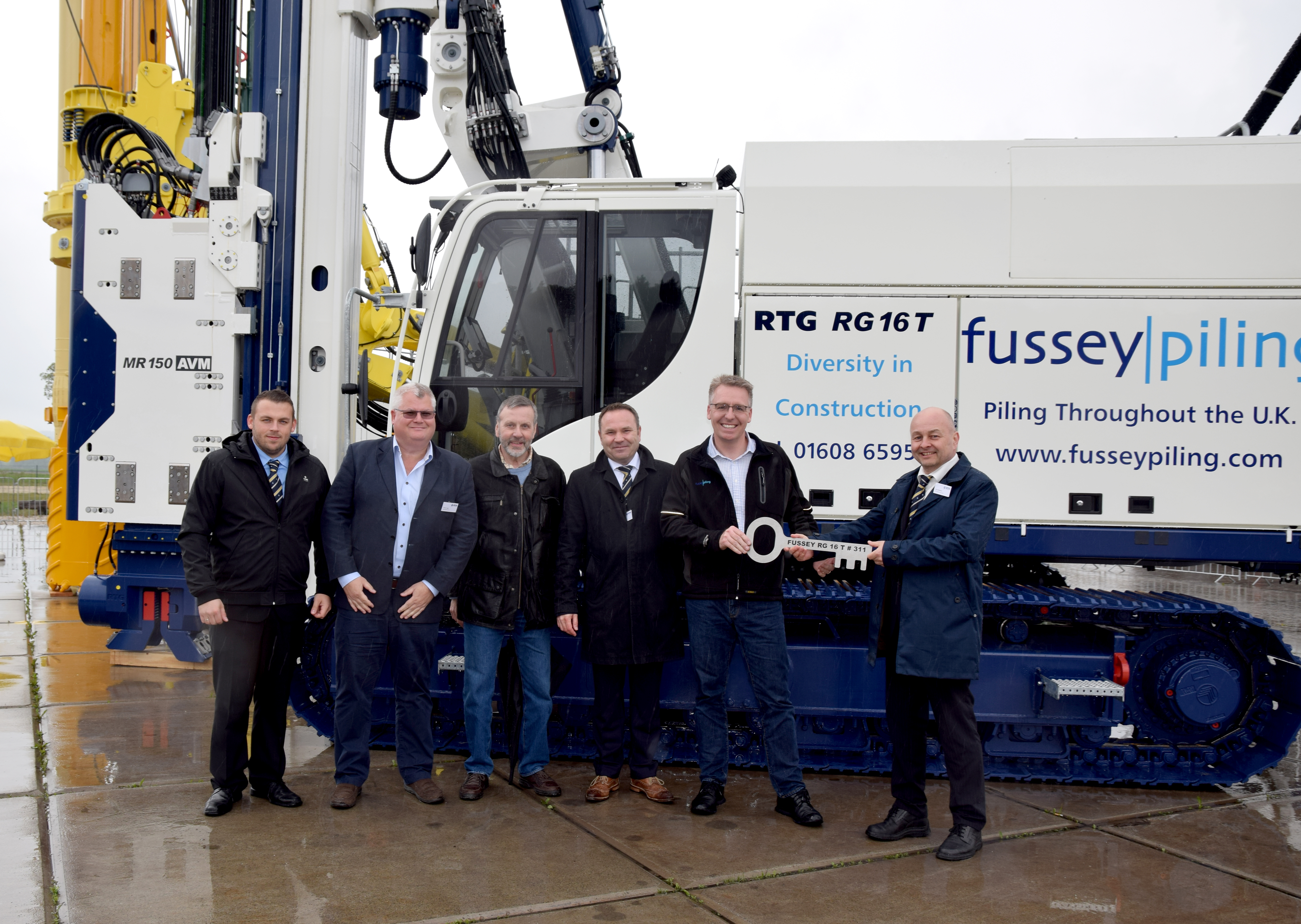 Fussey Piling choose RTG from AGD for the 3rd time!