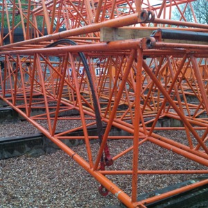 Used IHI crawler crane boom inserts and fly jibs for sale