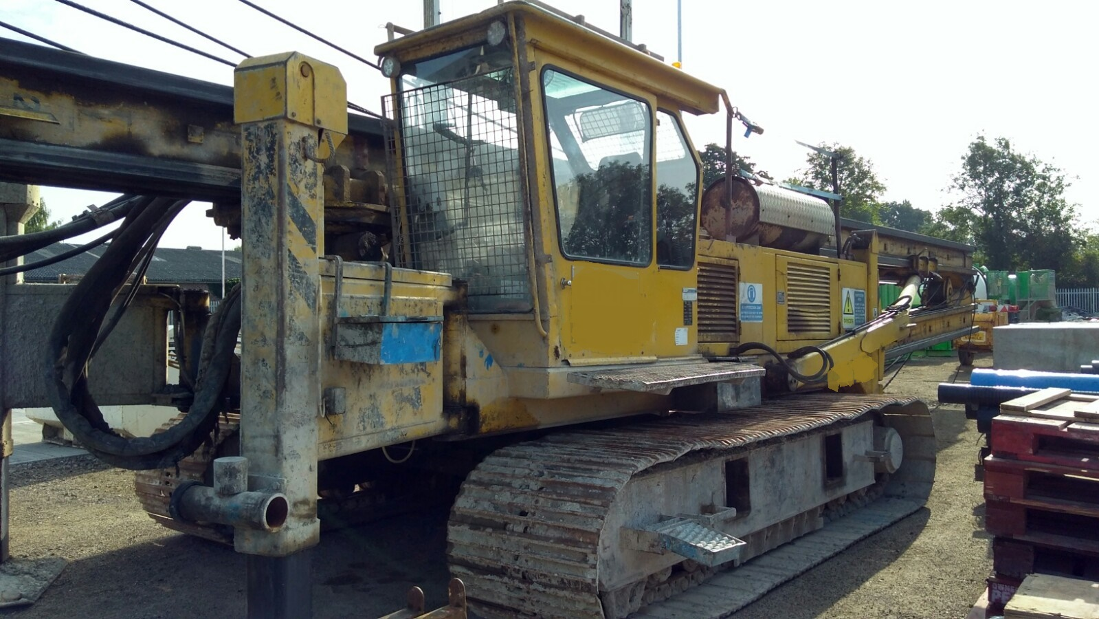 Used Woltman 4019D CFA piling rig for sale