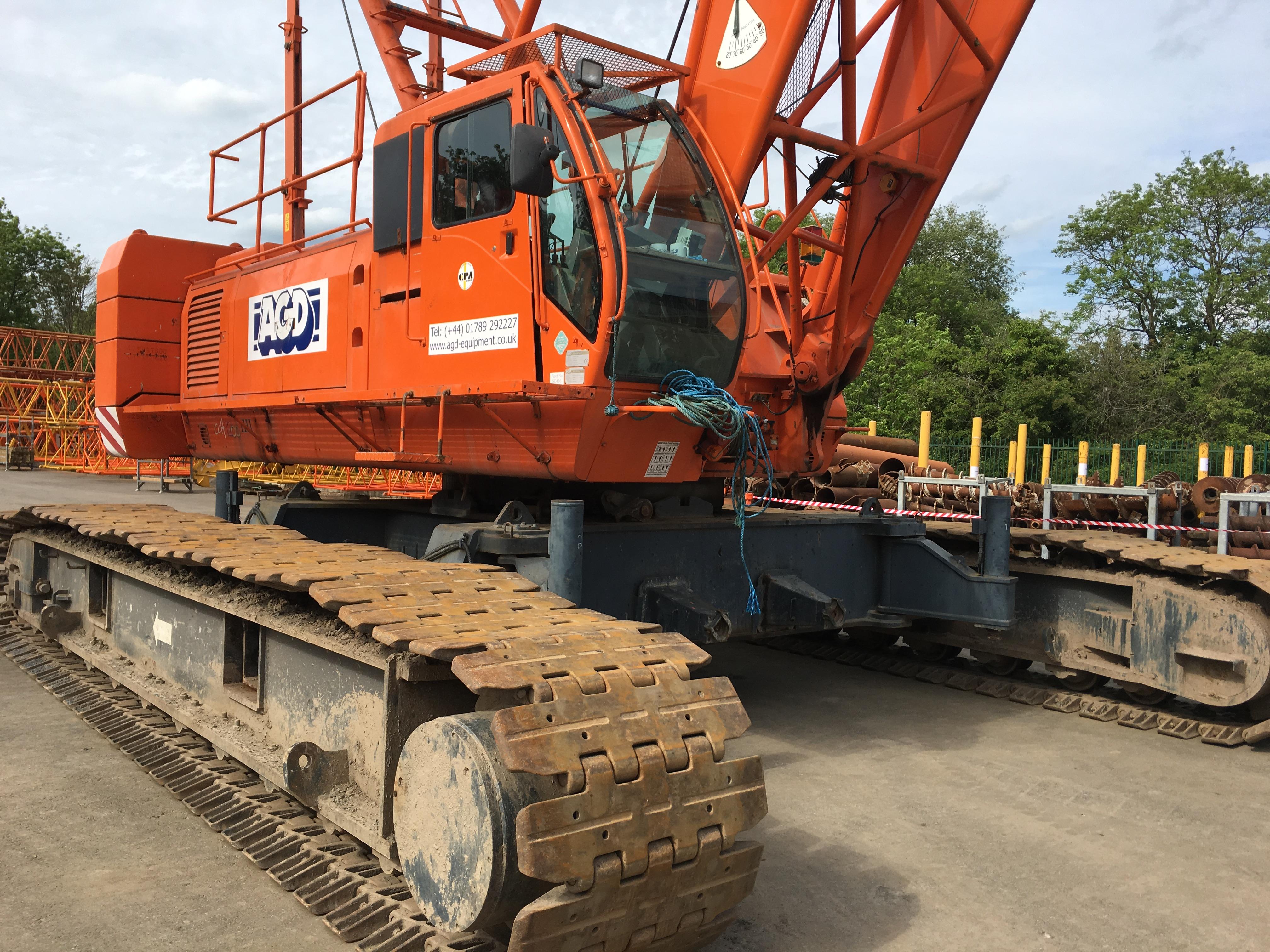 Used IHI CCH1200 120 tons Lattice Boom Crawler Crane For Sale