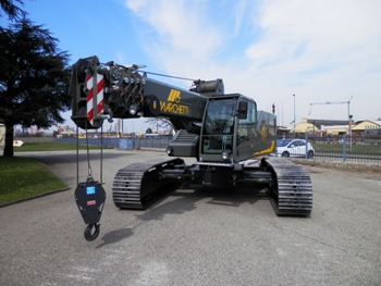 Marchetti CW25.35 telescopic crawler crane