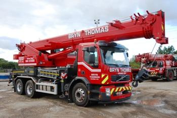 Marchetti MTK 35 truck crane