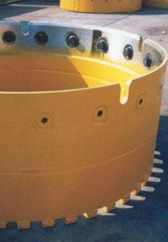NCB segmental casings