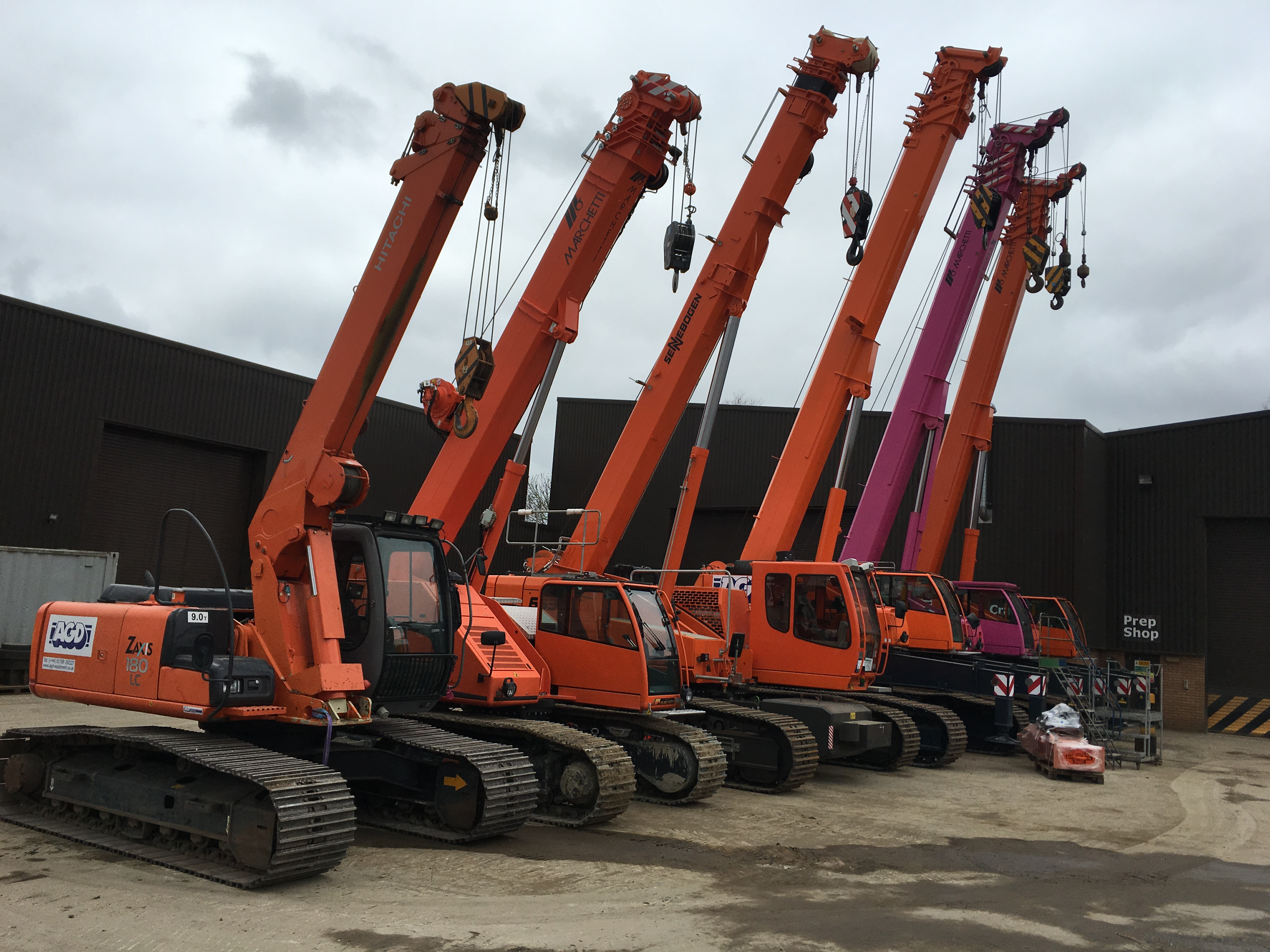 Need a telescopic crawler crane?