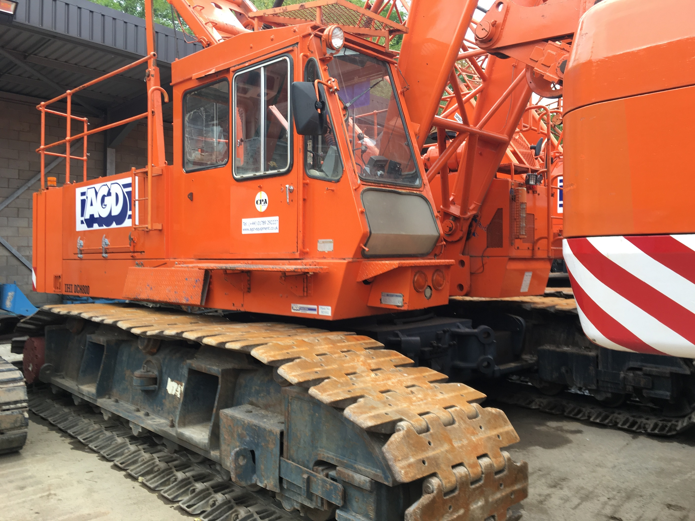 Used lattice boom crawler cranes for sale