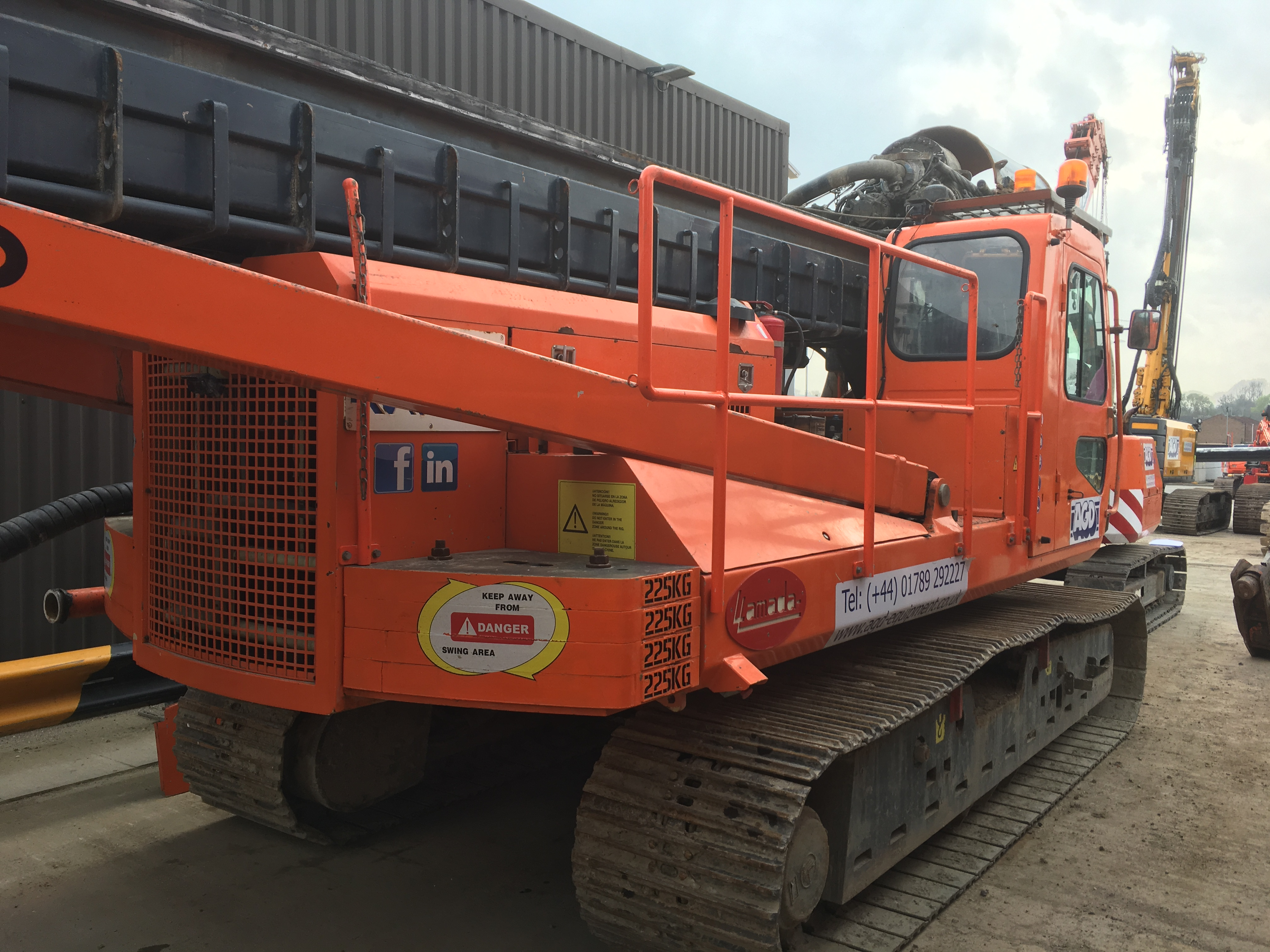 Used CFA piling rigs for sale