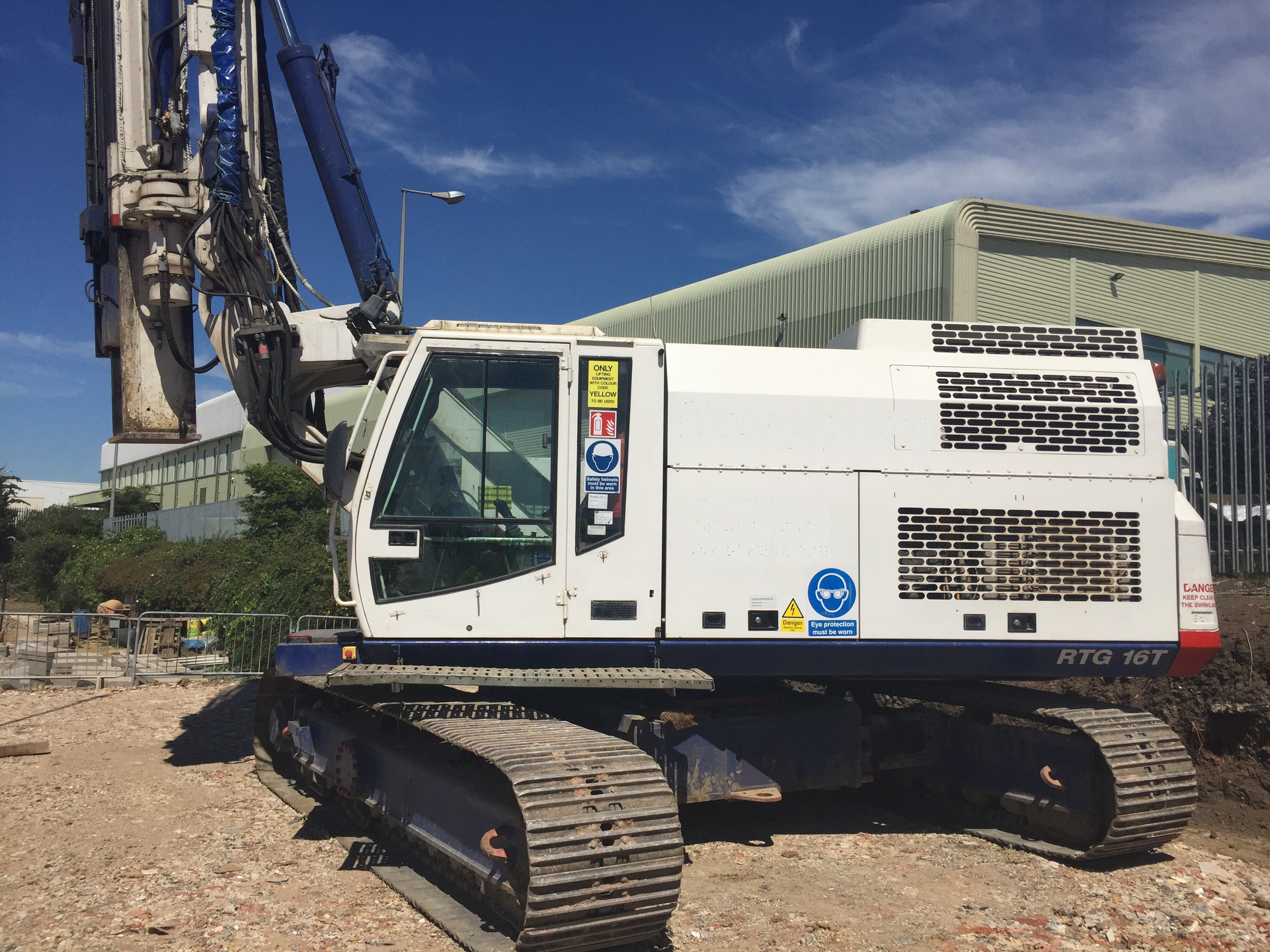 Used RTG RG16T telescopic leader rig for sale