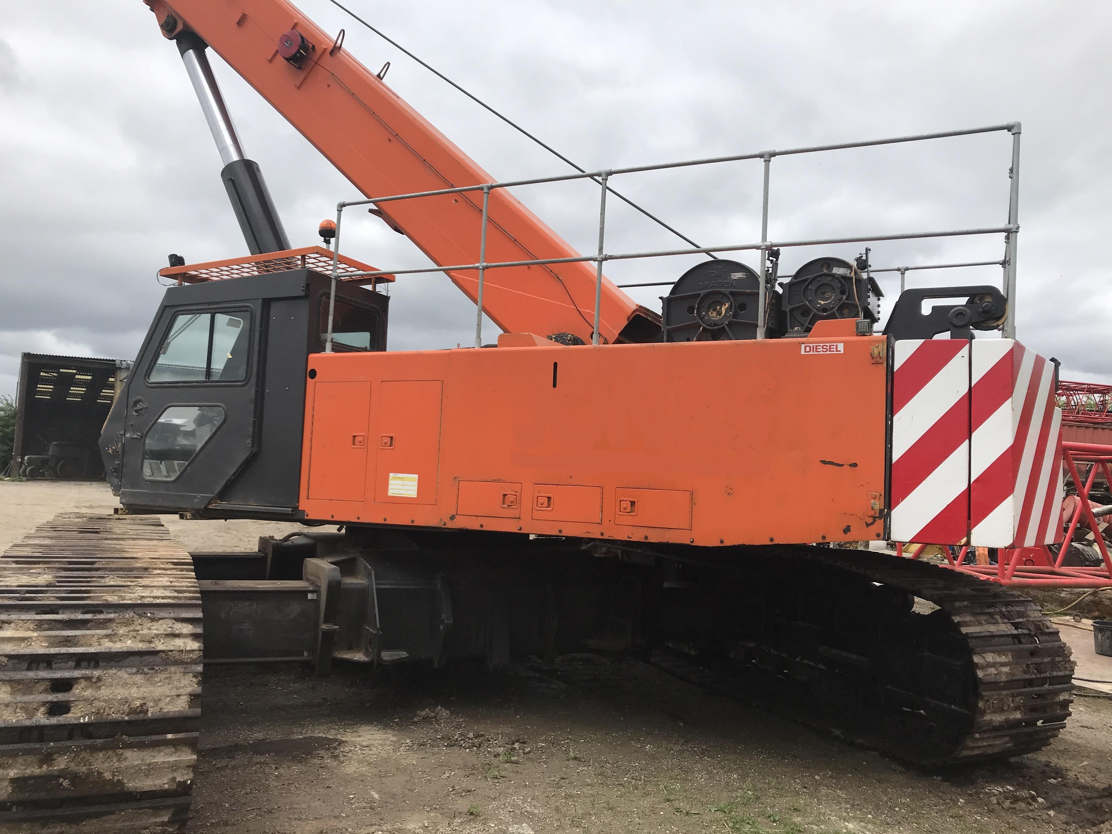 Used Mantis 65 tons telescopic crawler crane for sale