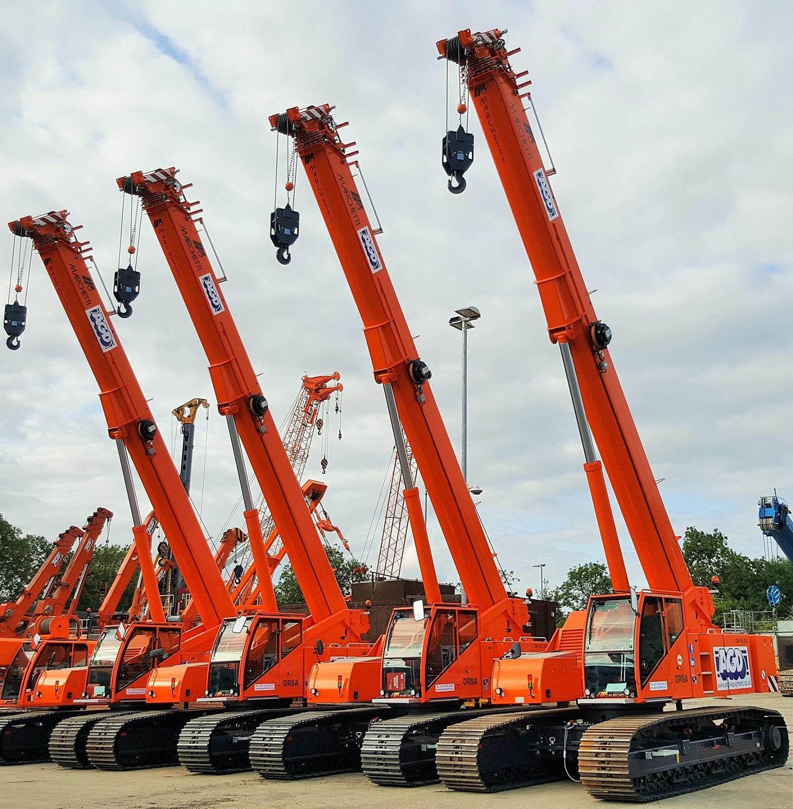 45 tons Telescopic Crawler Crane Hire