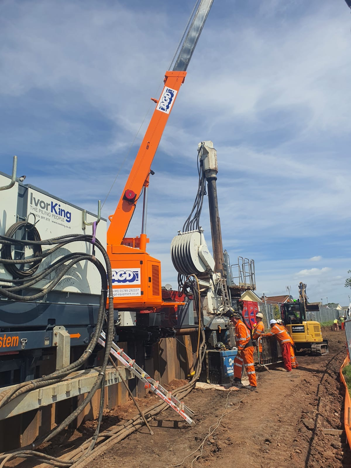 Giken GRB system used for FAS at Burton on Trent
