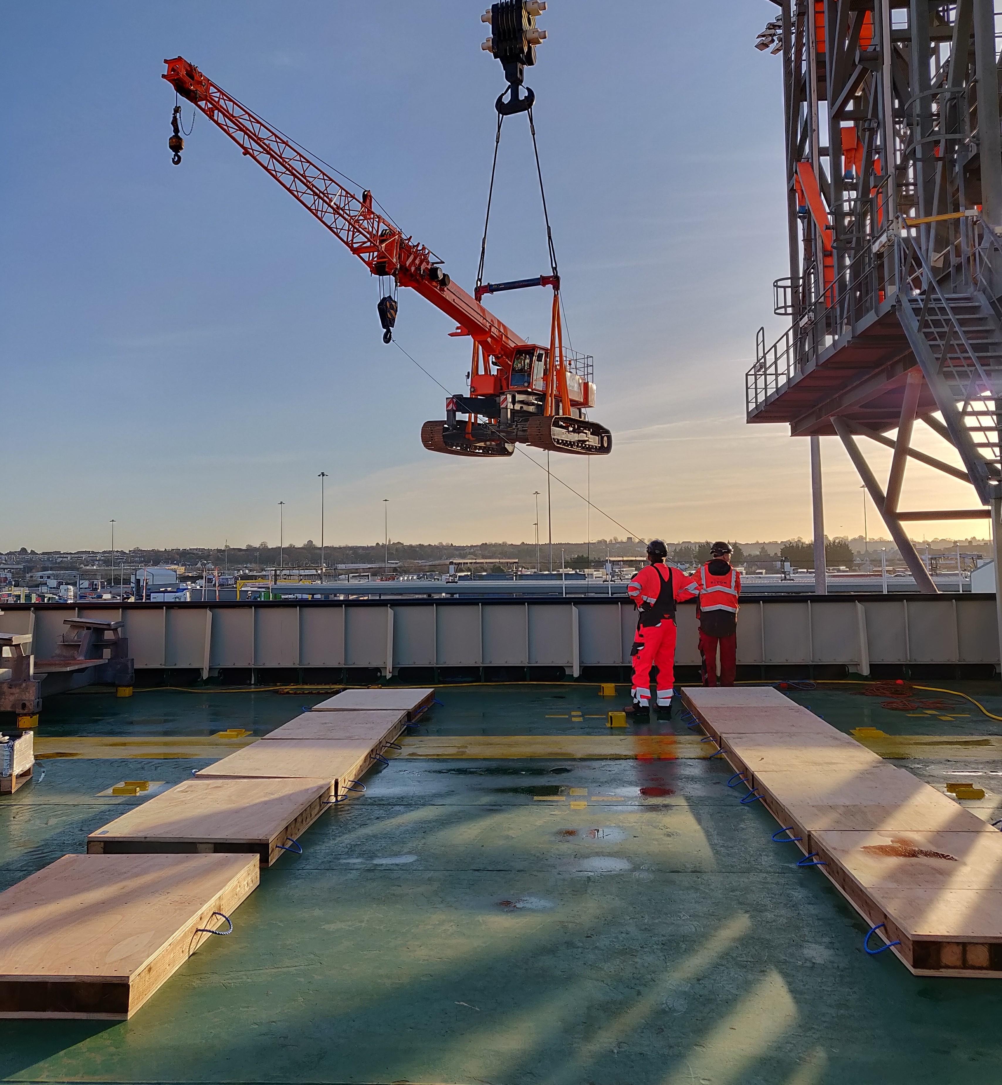 Marchetti Sherpa 70 tons telescopic crawler crane