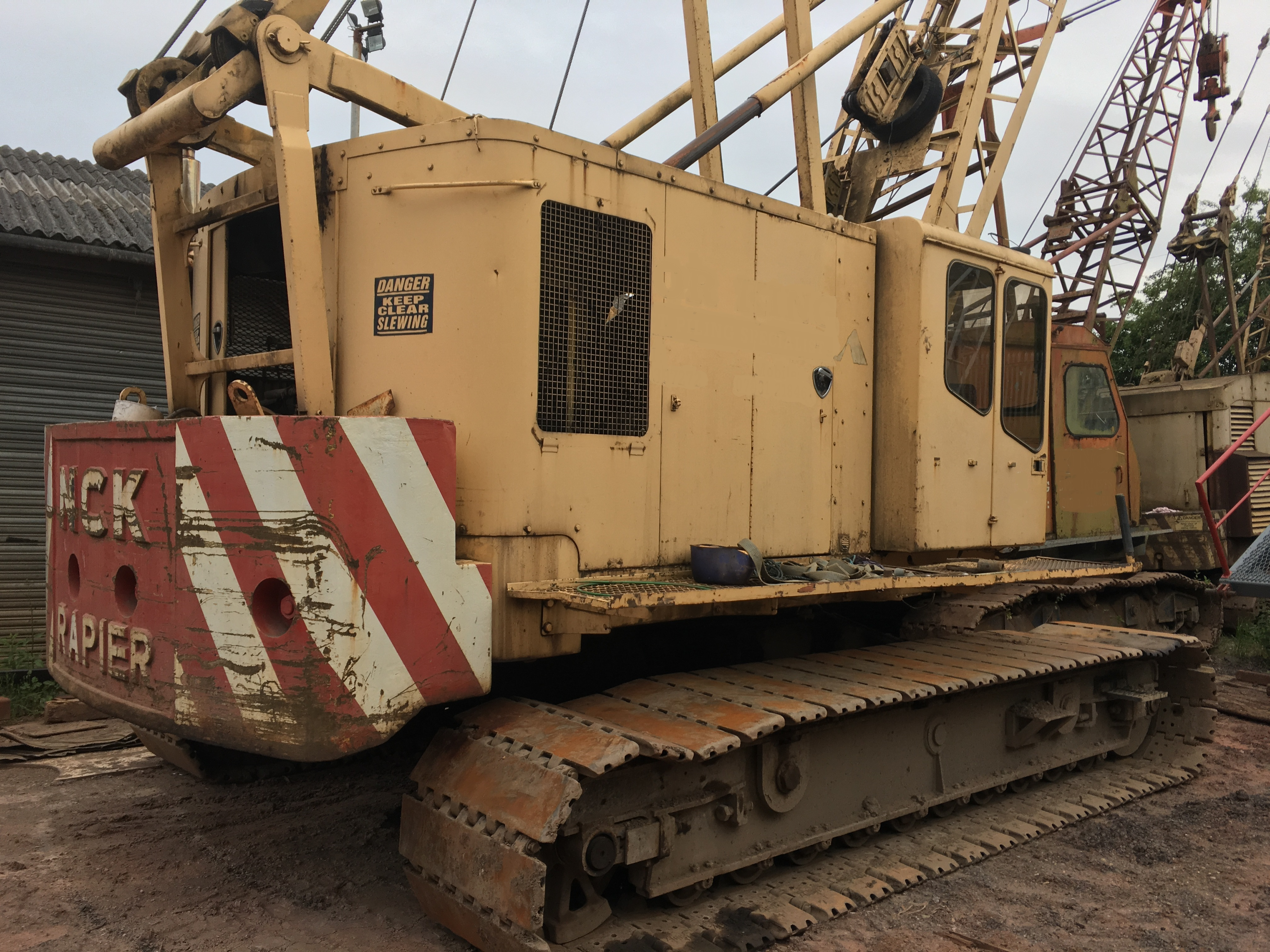 Used NCK Andes C41C 41 tons lattice boom crawler crane for sale