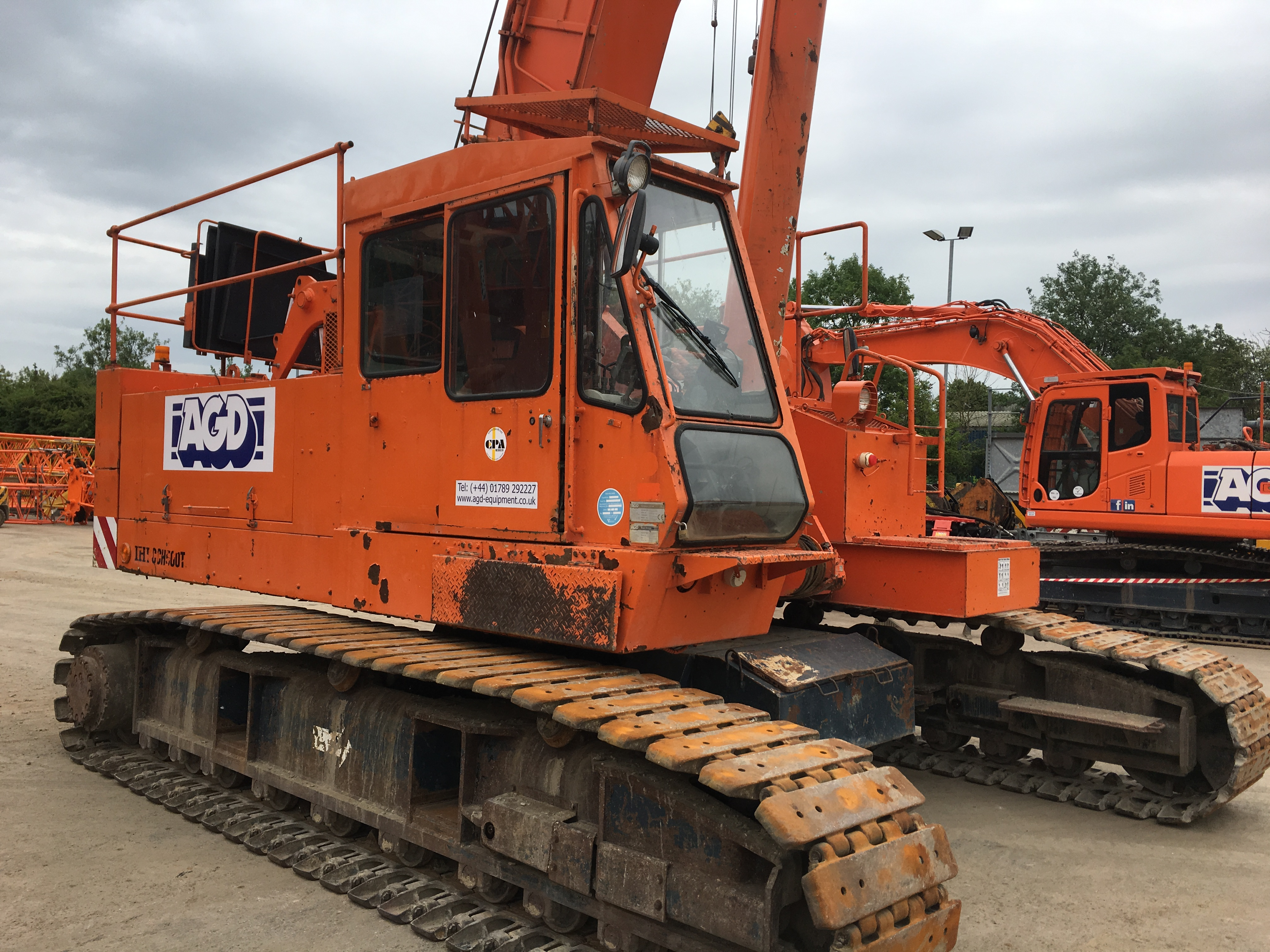 Used IHI CCH500T 50 tons telescopic crawler crane for sale