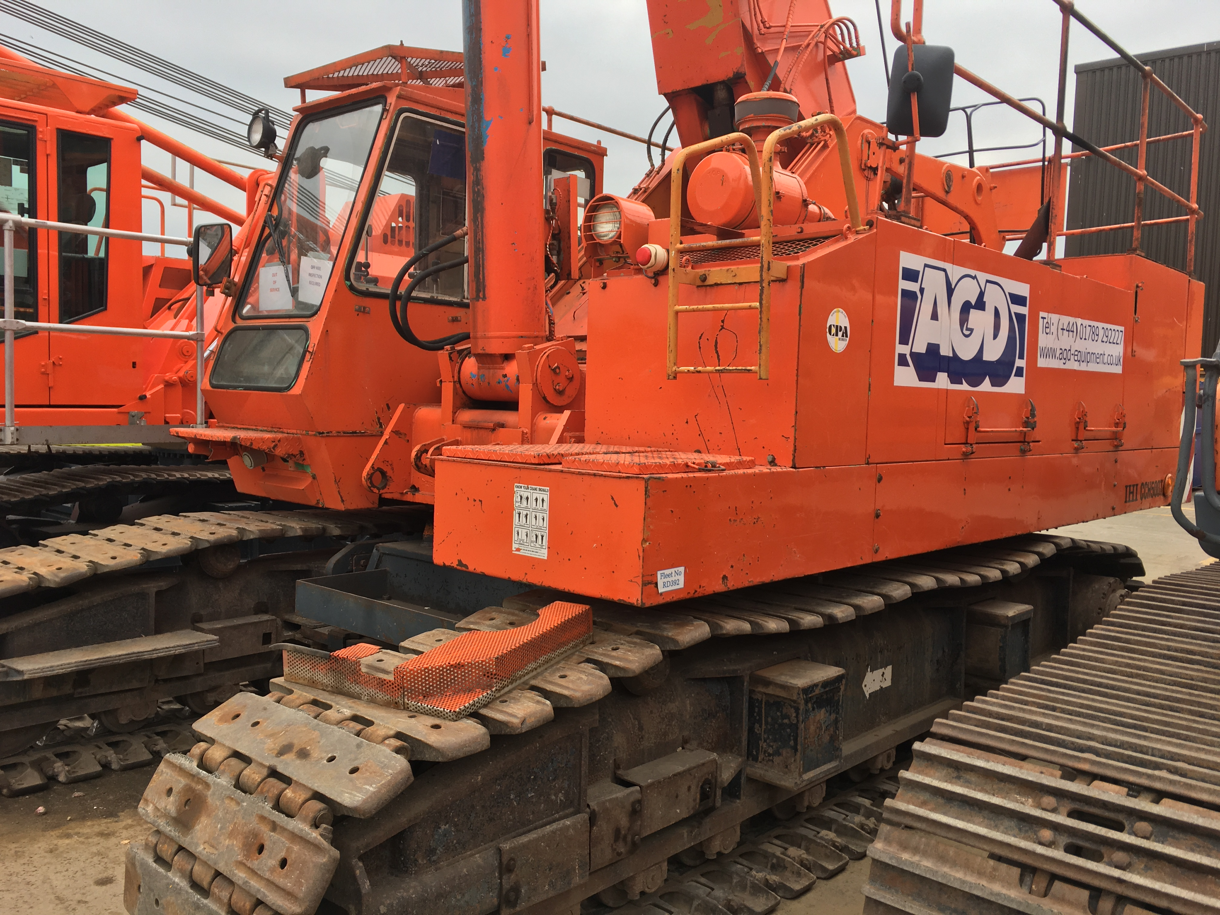 Used IHI CCH500T telescopic crawler crane for sale