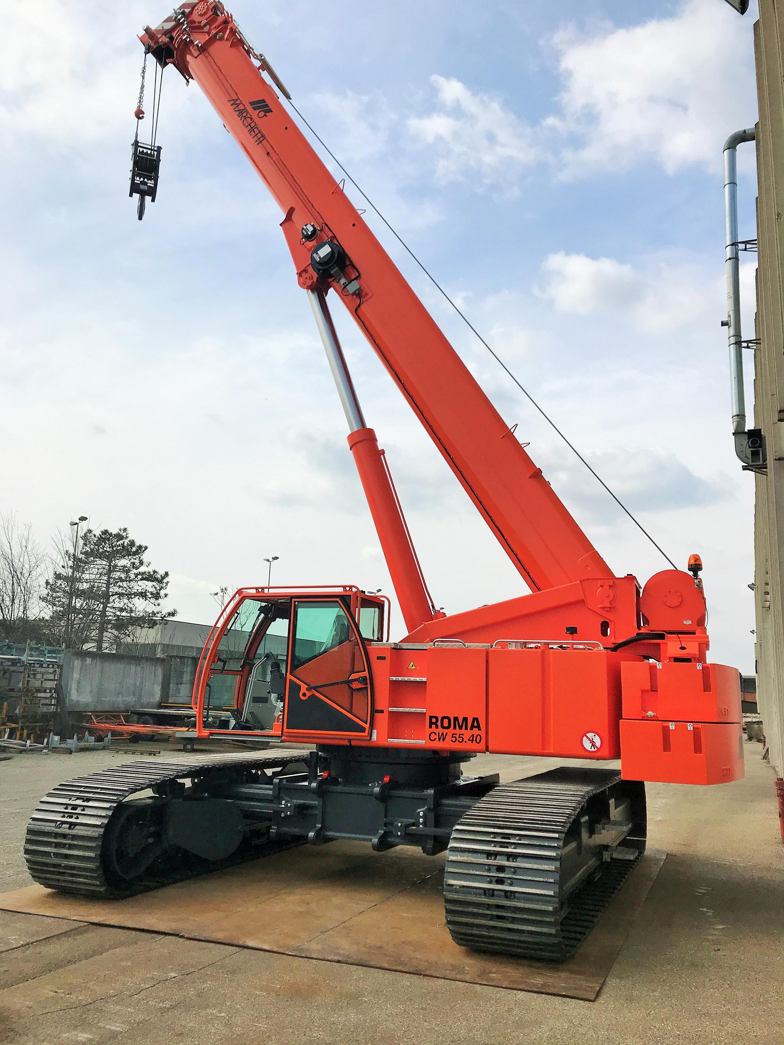 Marchetti Roma 55 tons telescopic crawler crane