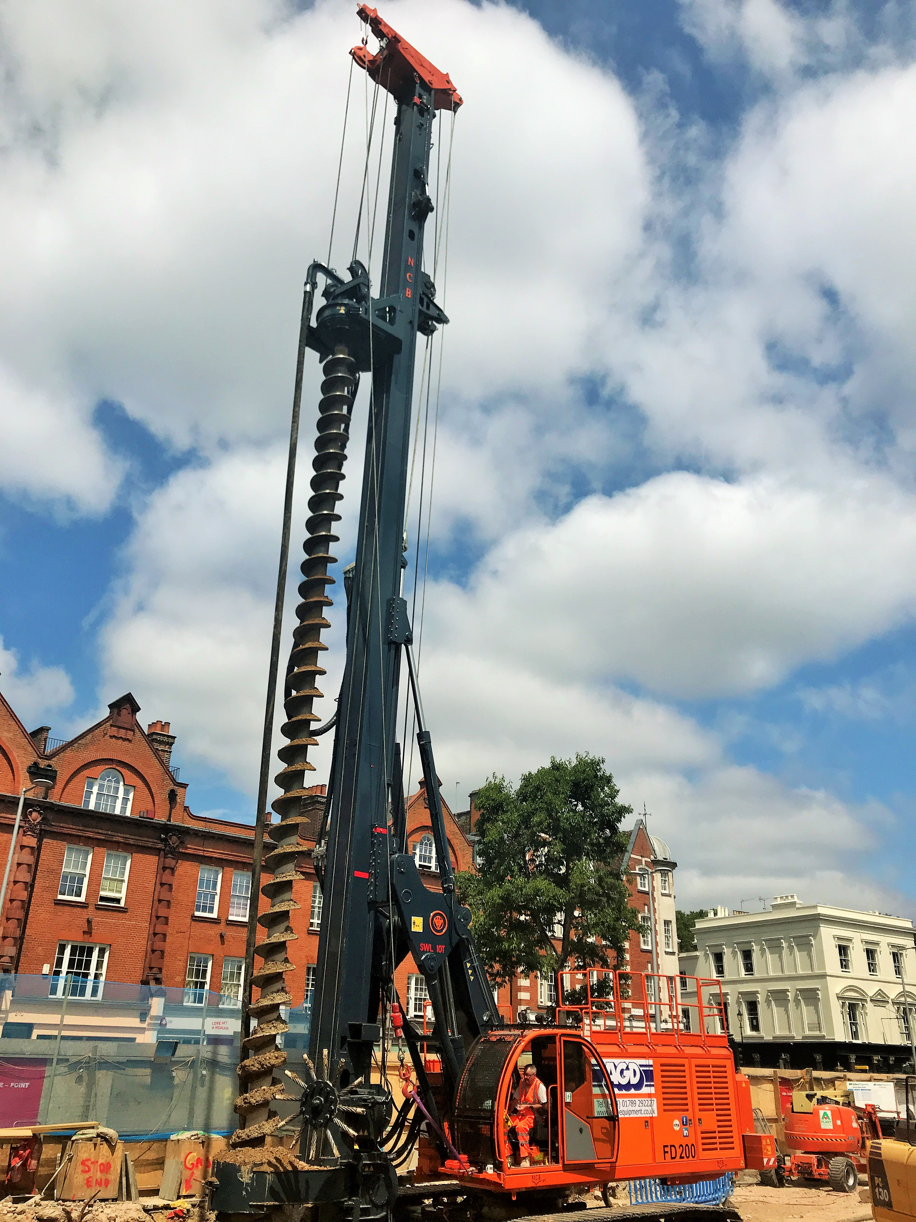 CFA Piling Rig Hire