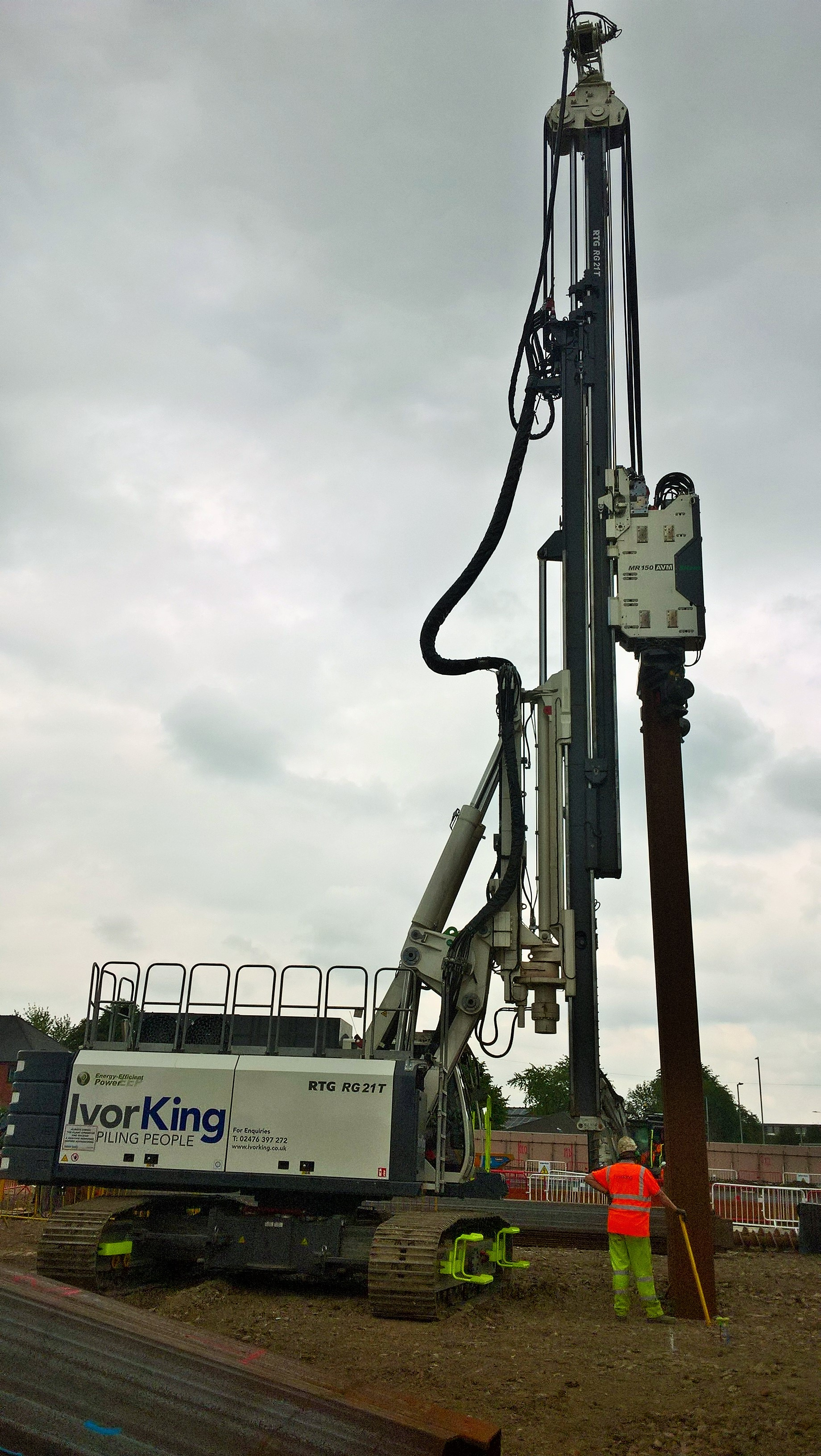 Ivor King chooses RTG from AGD for the 2nd time