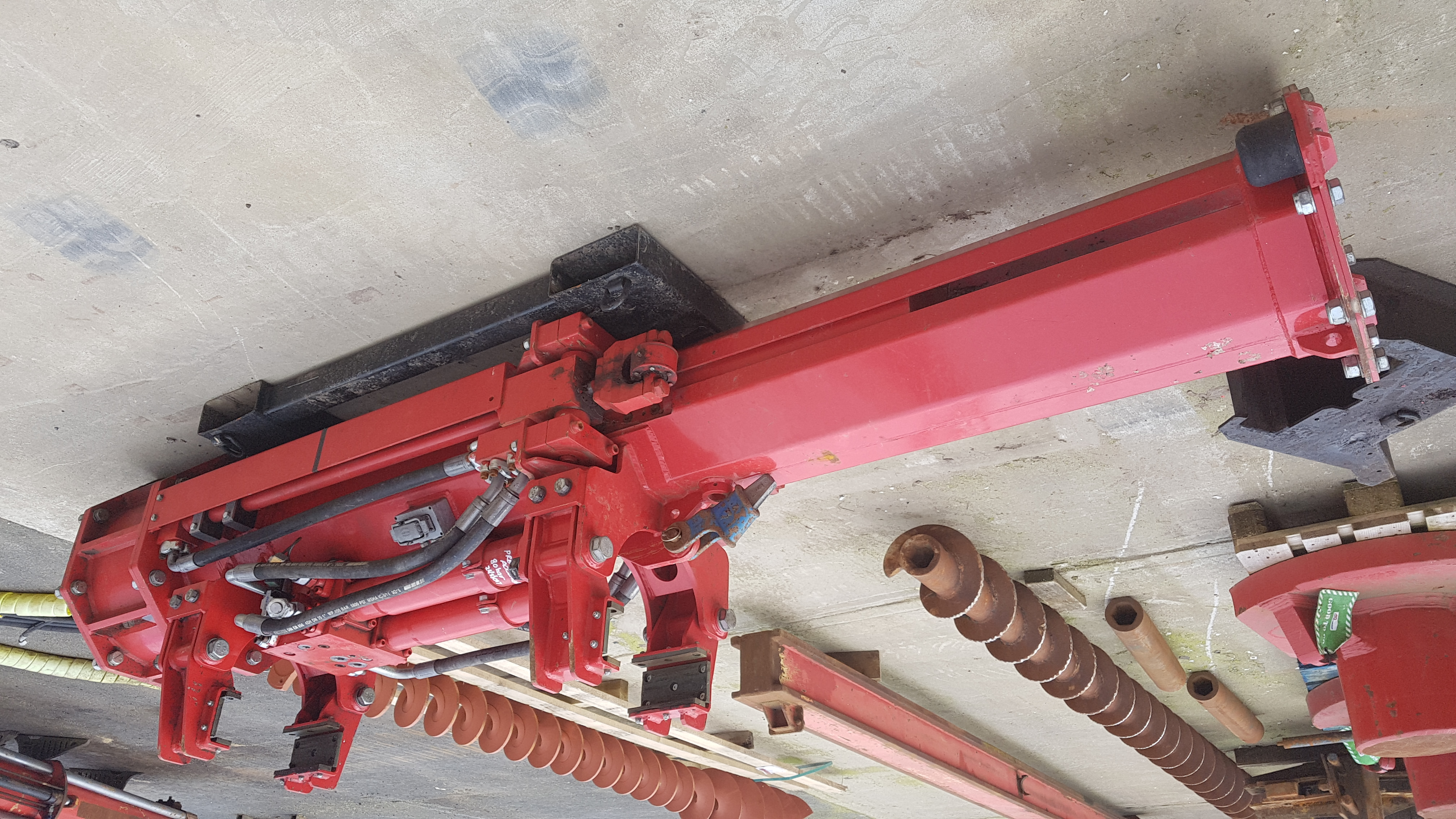 Used IHC Fundex CPE22 hydraulic impact hammer for sale