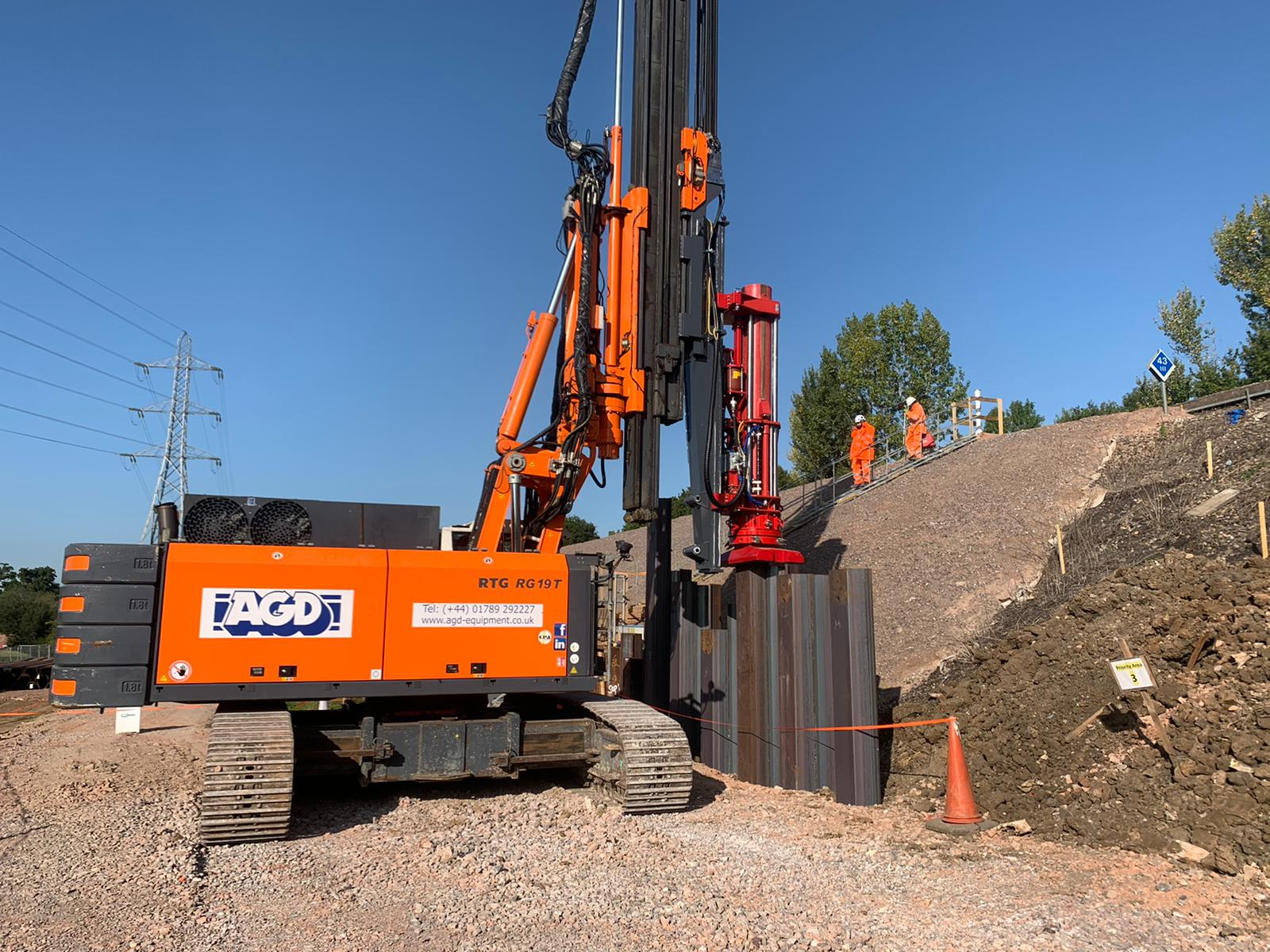 New Fambo HR5000 leader rig mounted impact hammer enters hire fleet
