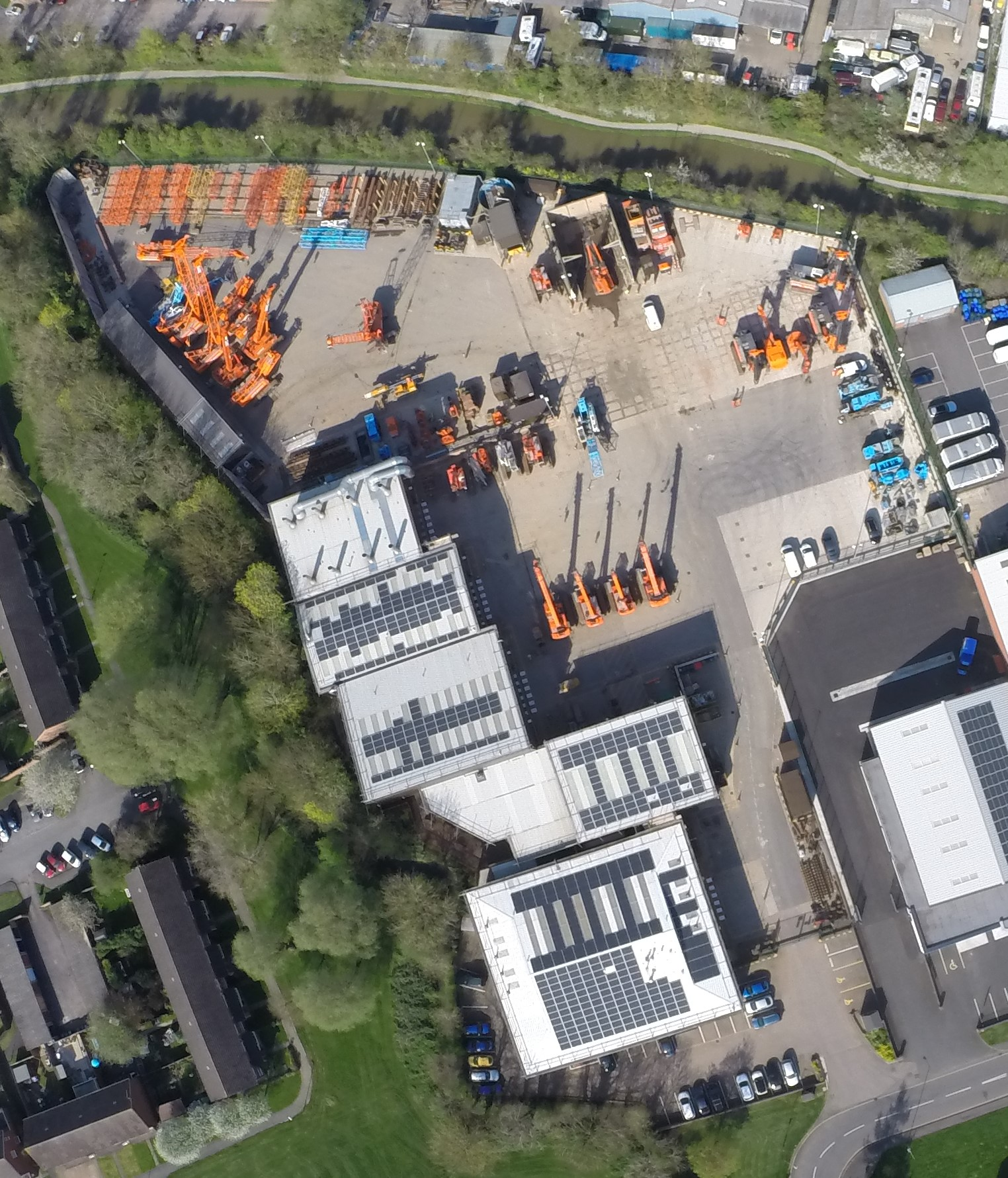 AGD Equipment's premises from above