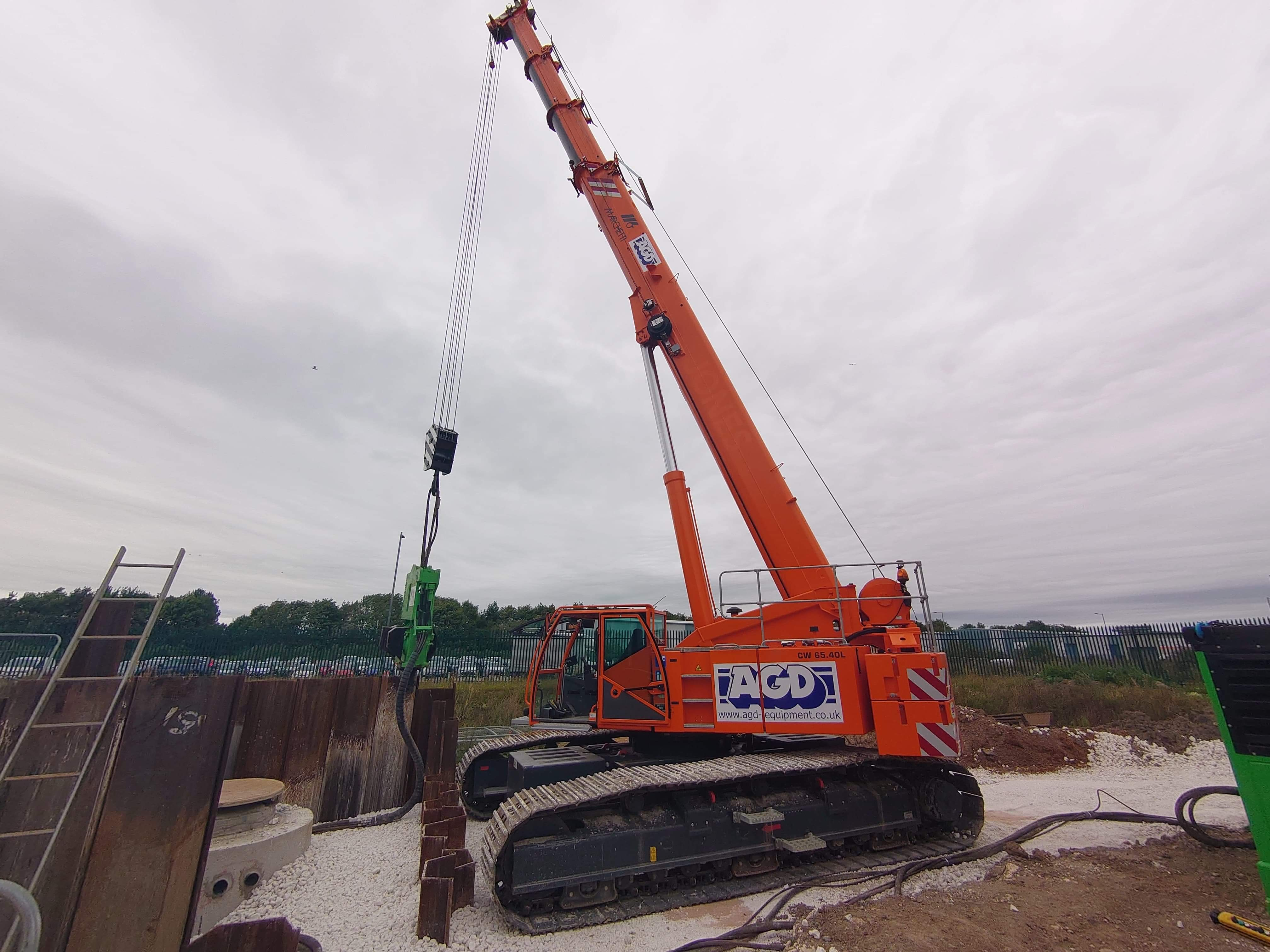 Marchetti Lupa 65 tons telescopic crawler crane