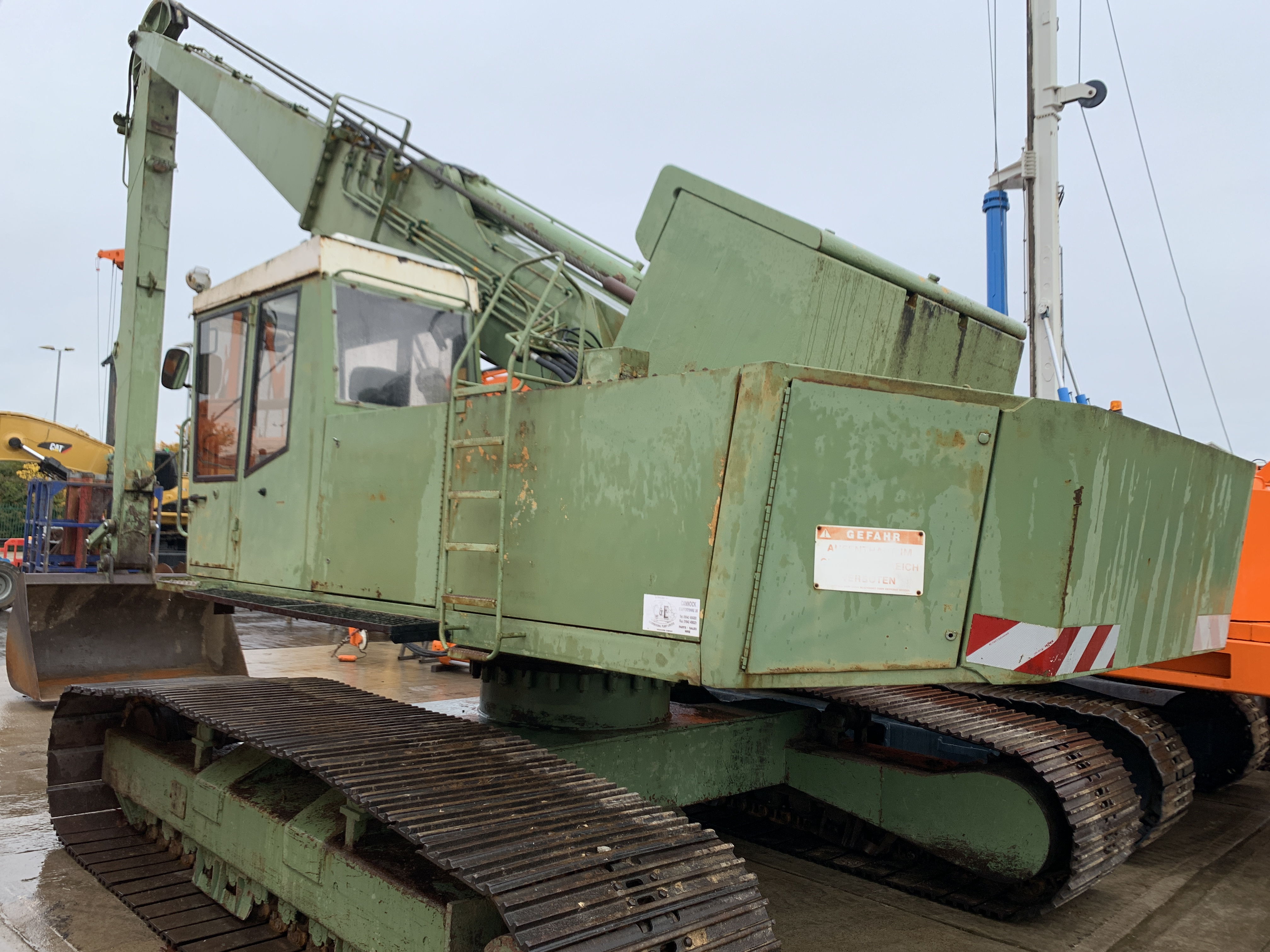 Used Priestman / RB VC20/15 long reach excavator for sale
