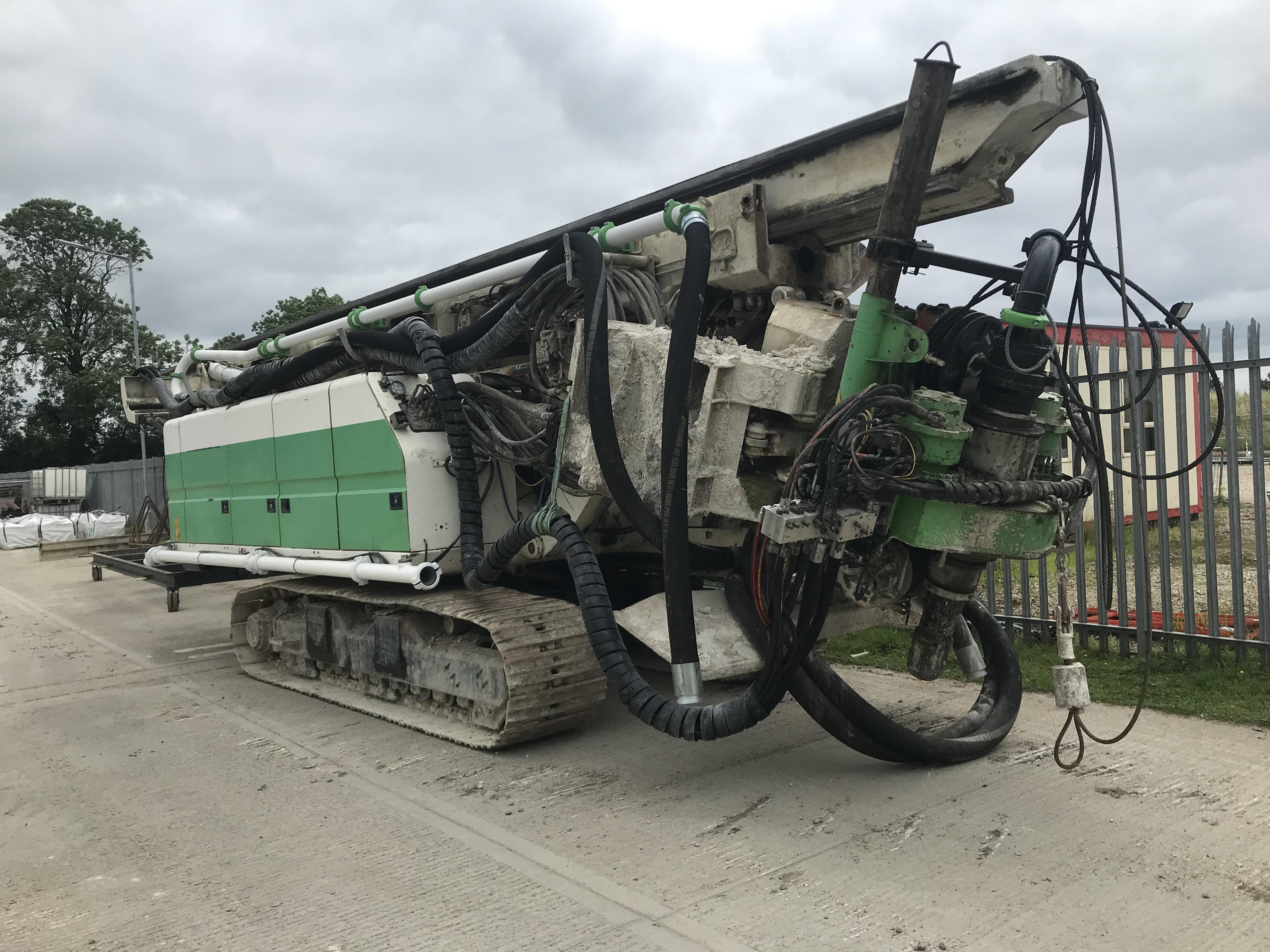Used Soilmec SF65 CFA piling rig for sale