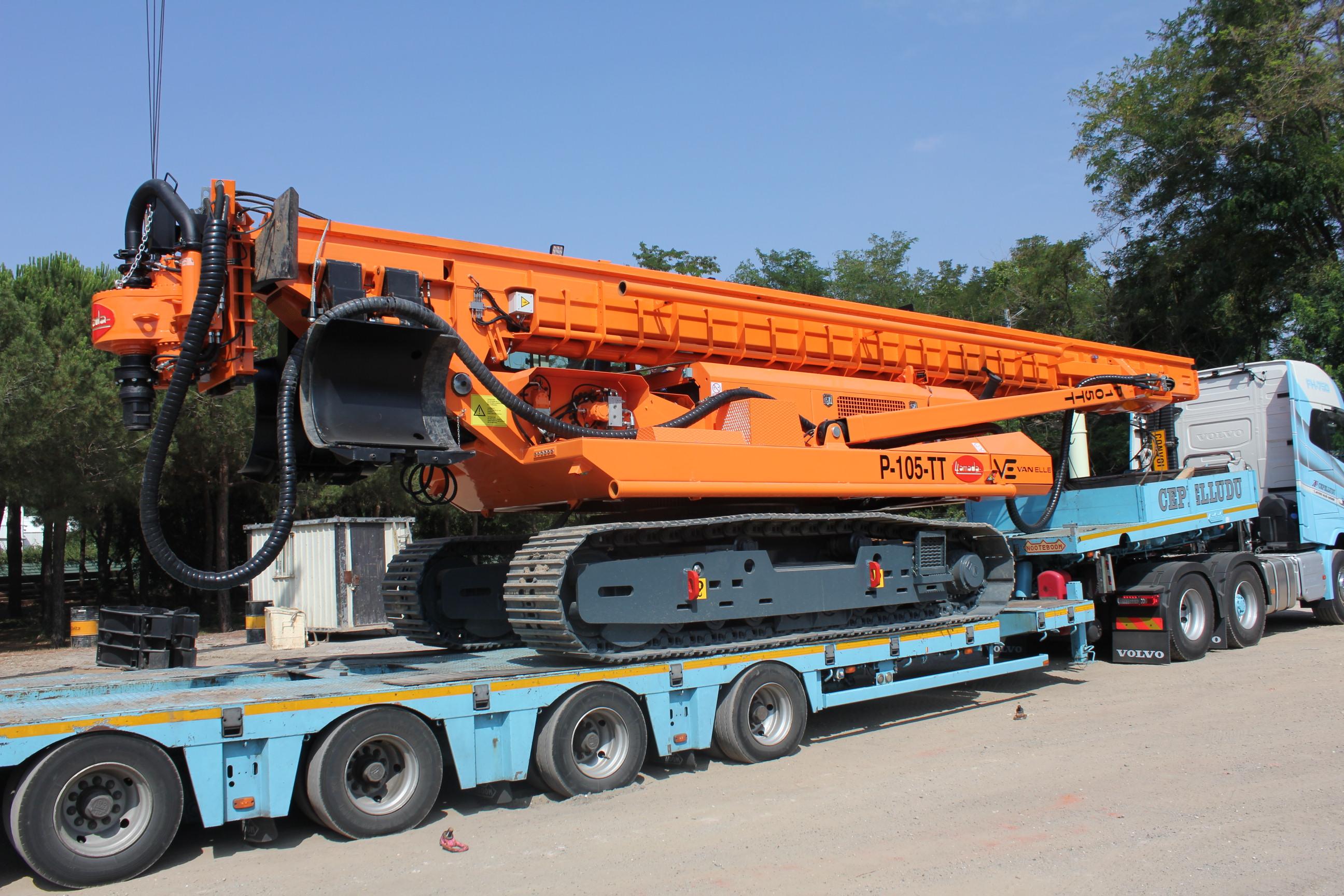 Llamada CFA piling rigs
