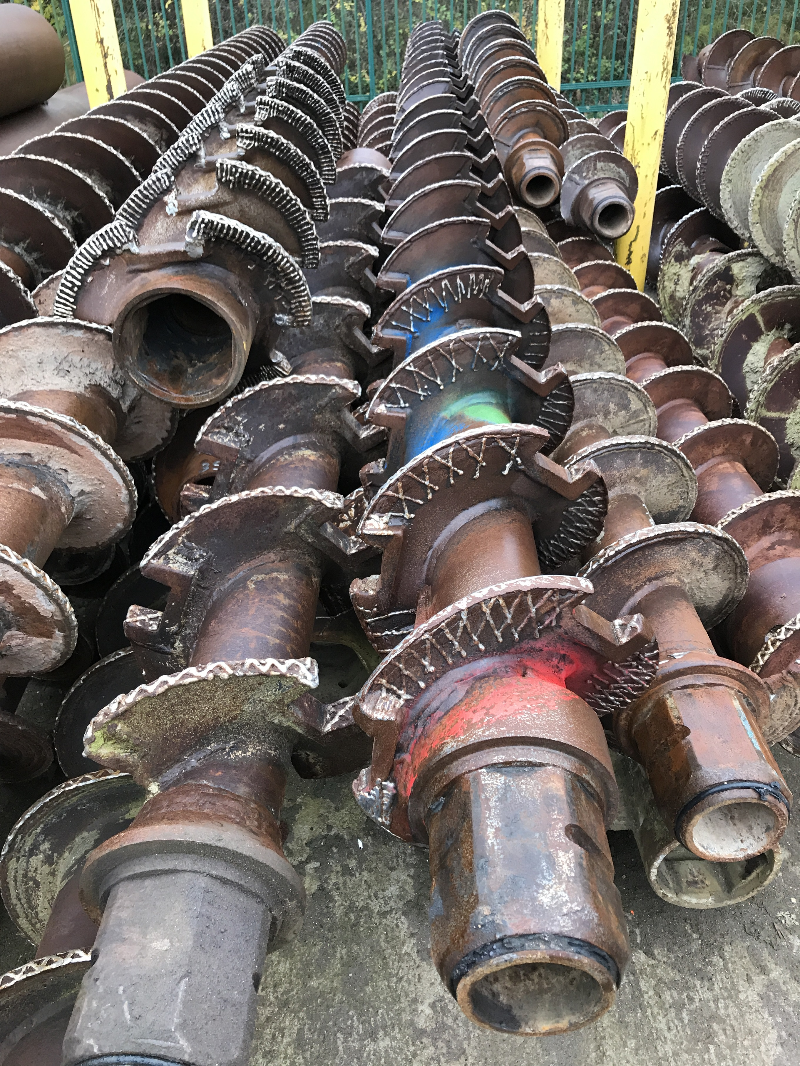 Used CZM slotted CFA augers for sale