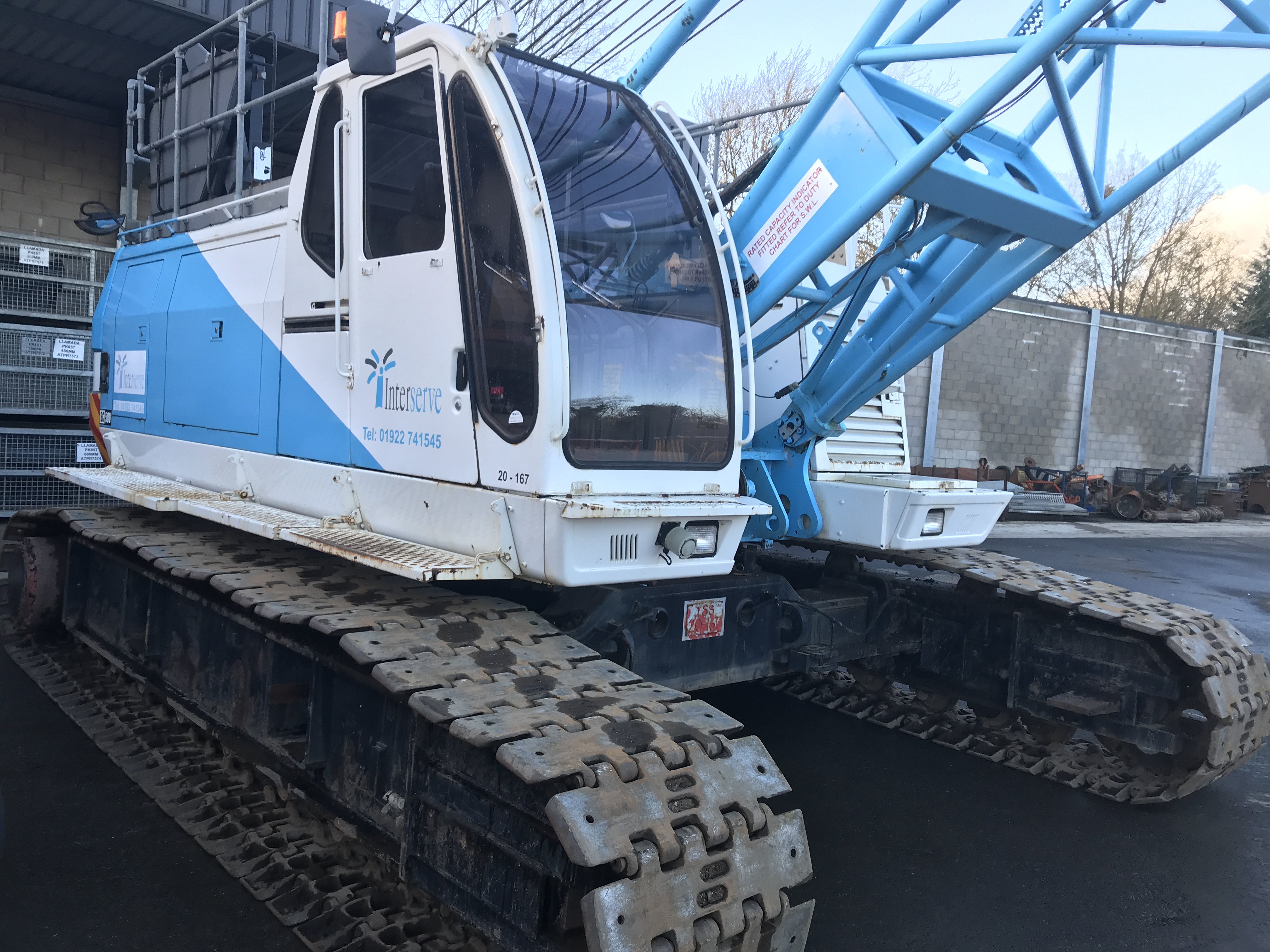 Used Sumitomo SC500-2 50 tons crawler crane for sale
