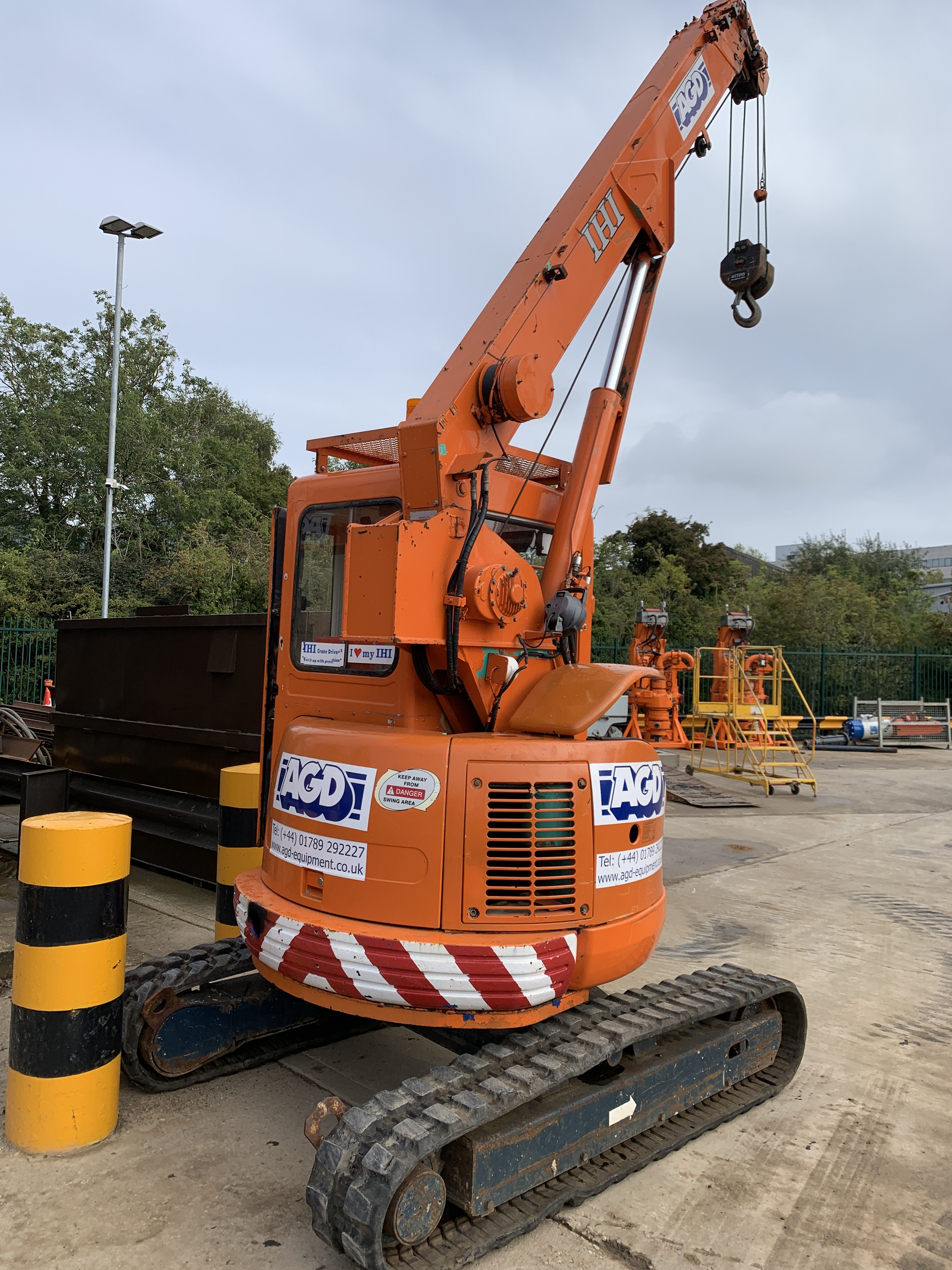 Used IHI CCH30T 3 tons mini crane for sale