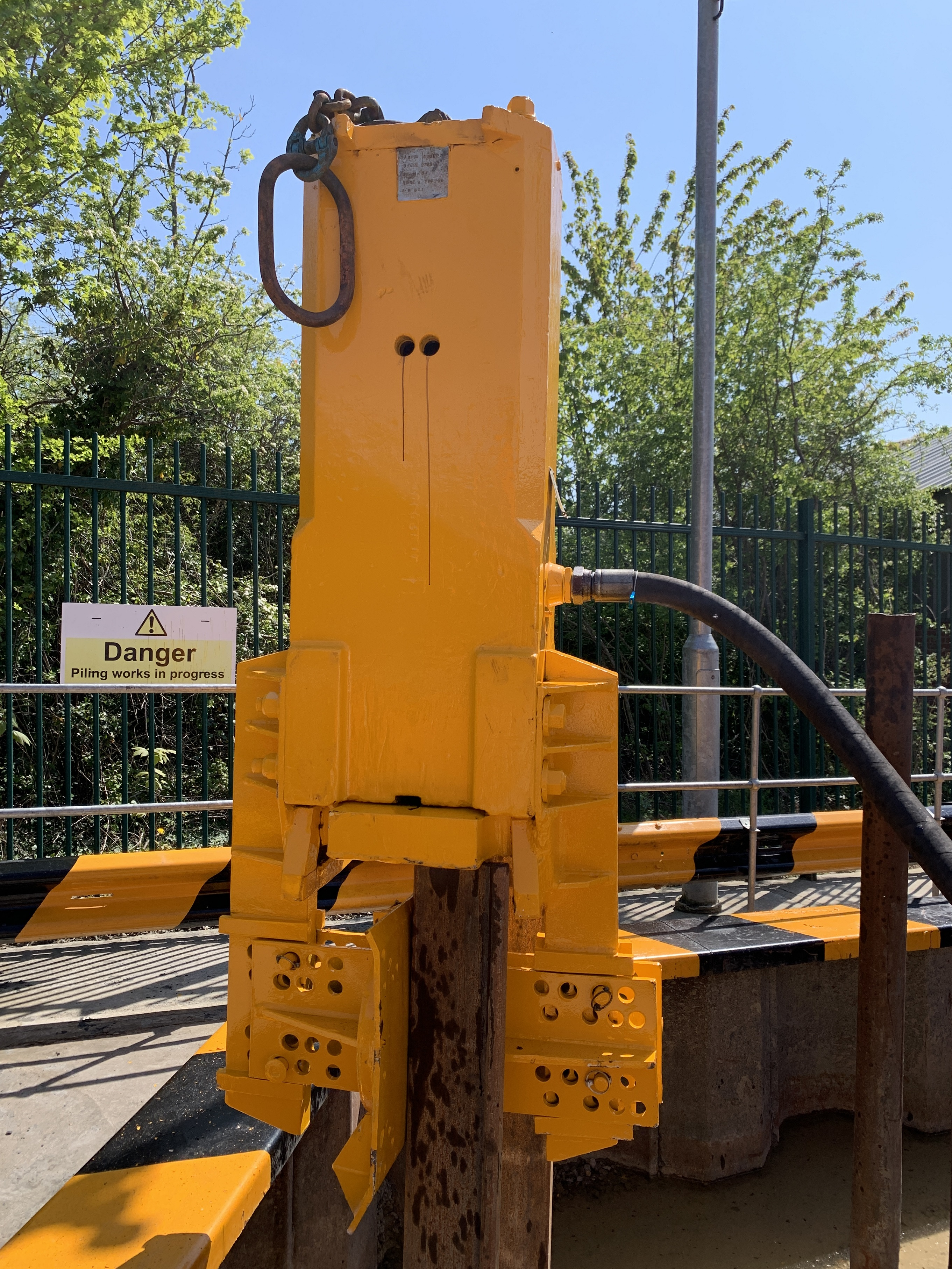 Used BSP 600N air hammer for sale