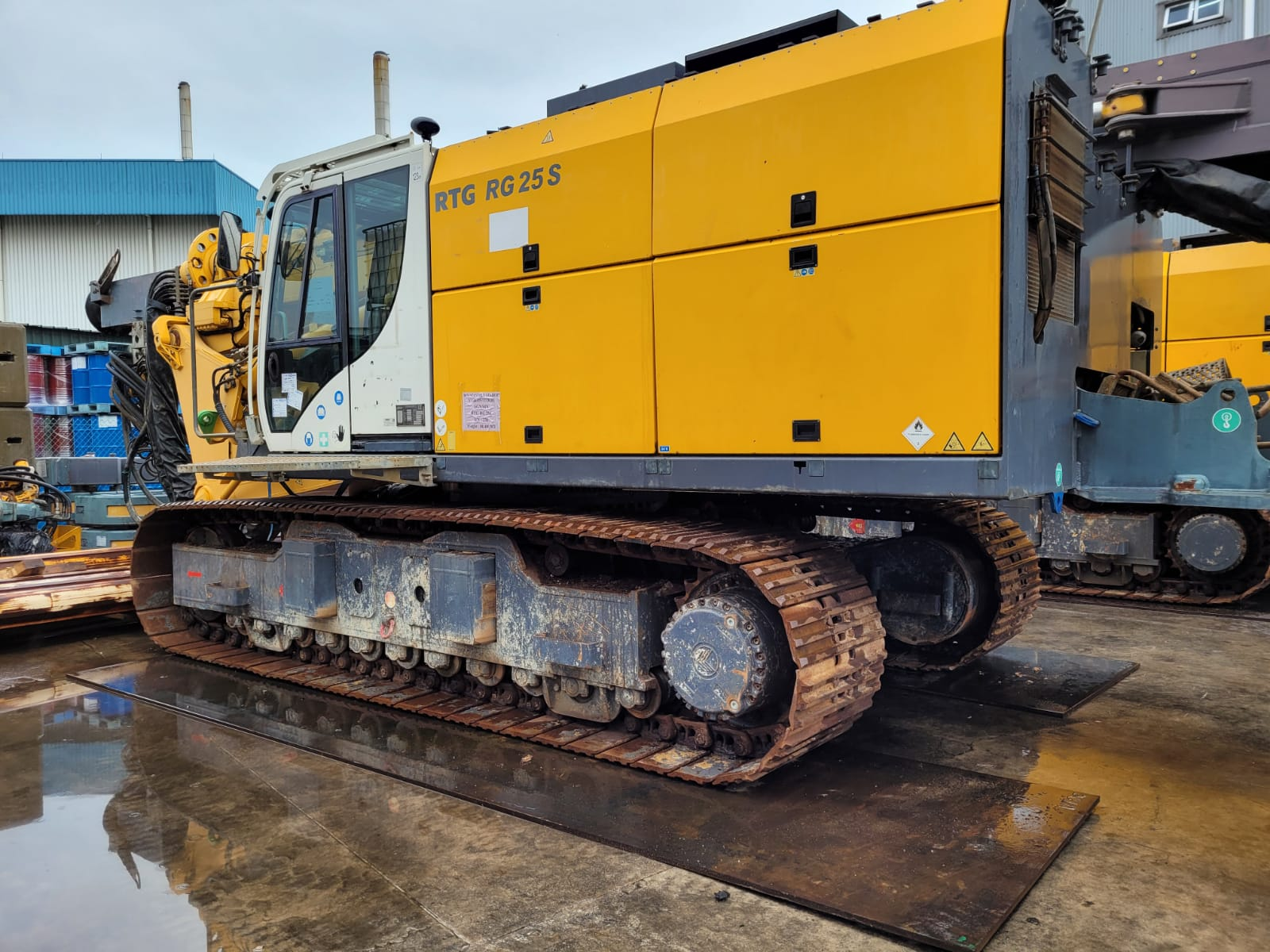 Used RTG RG25S fixed leader rig for sale