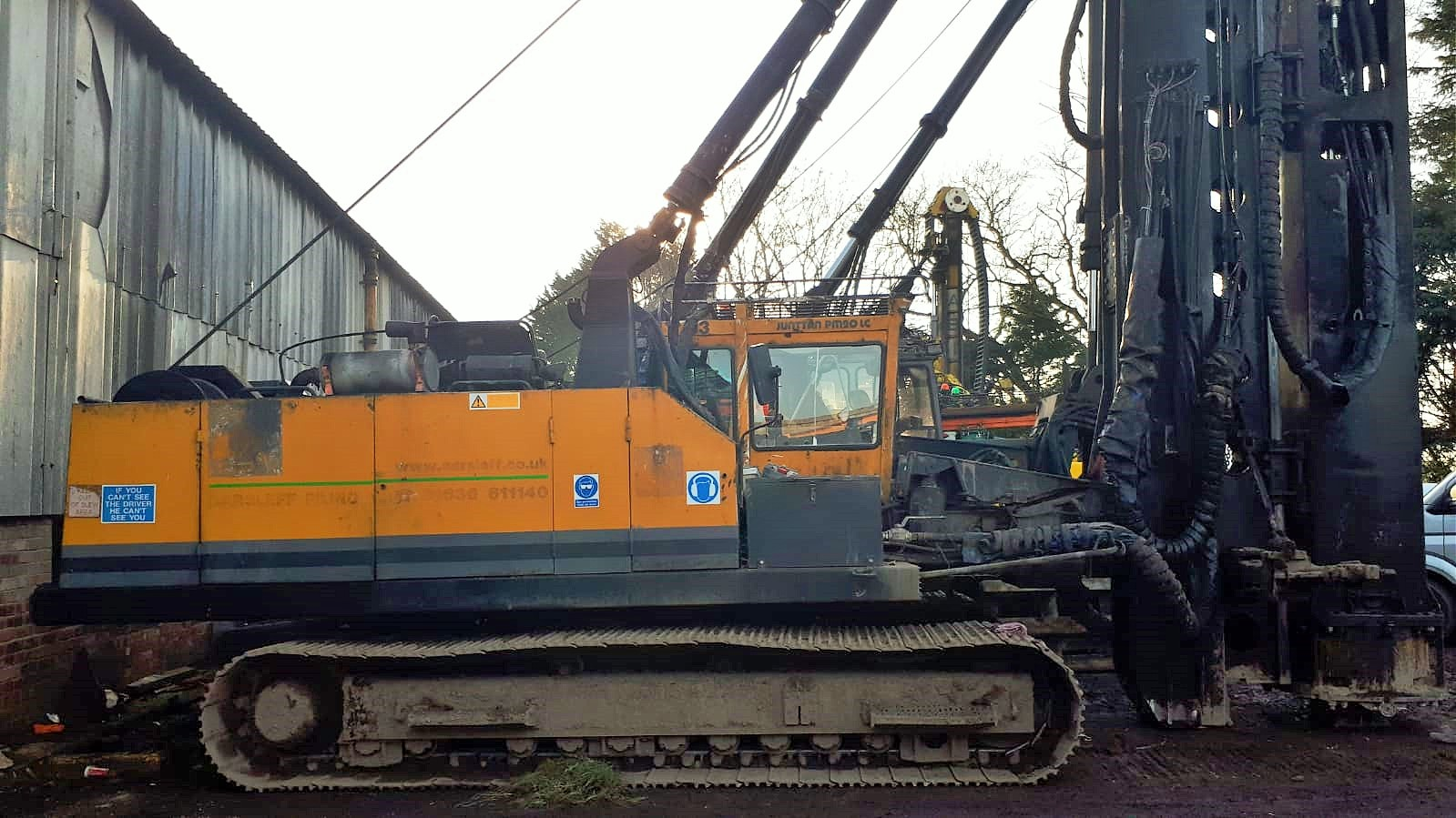 Used Junttan PM20 pile driver for sale
