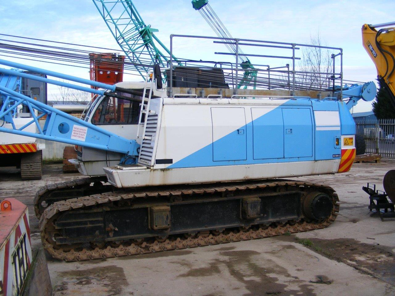 Used Sumitomo SC500-2 50 tons crawler crane for sale