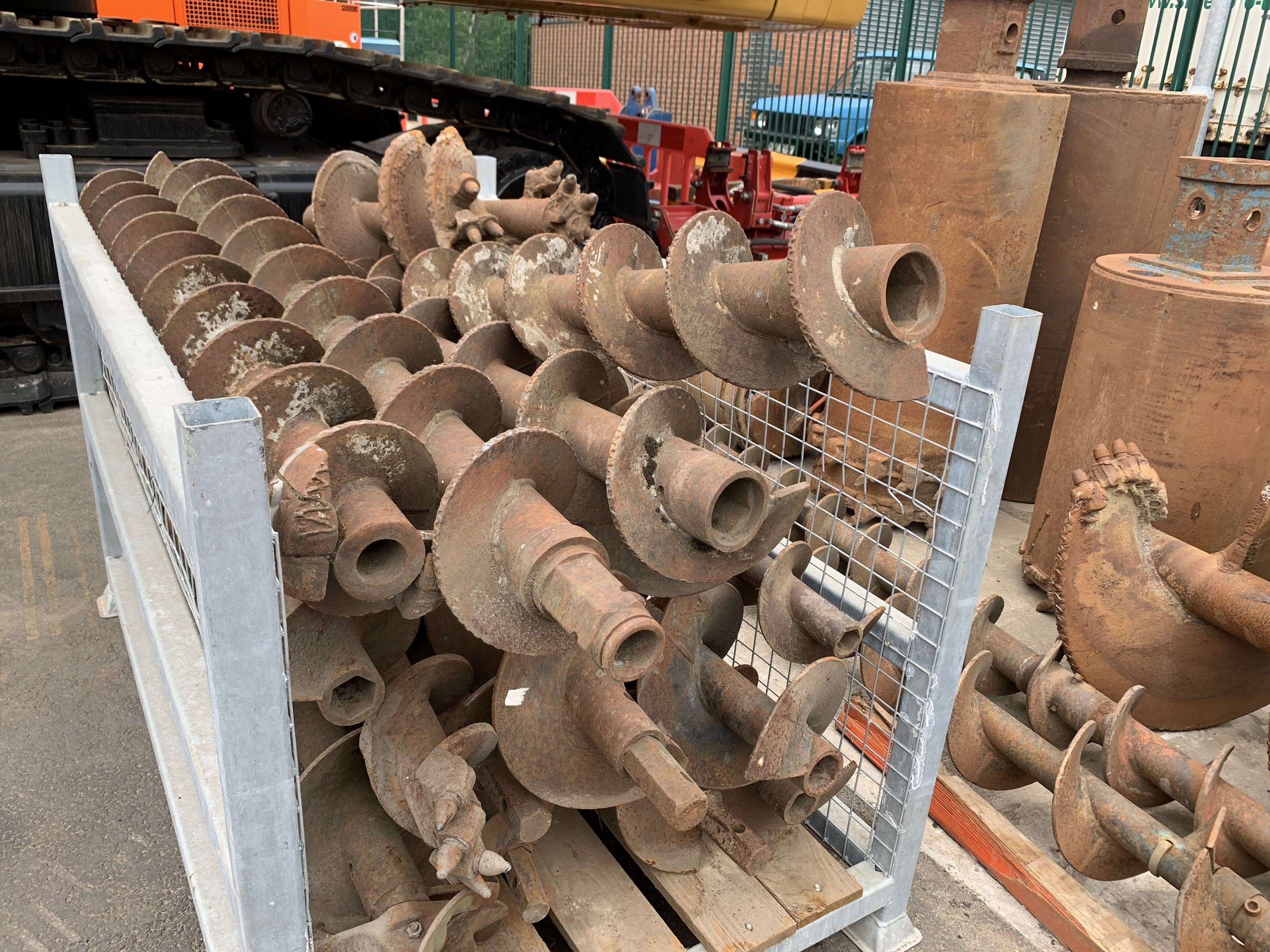 Used mini piling augers for sale