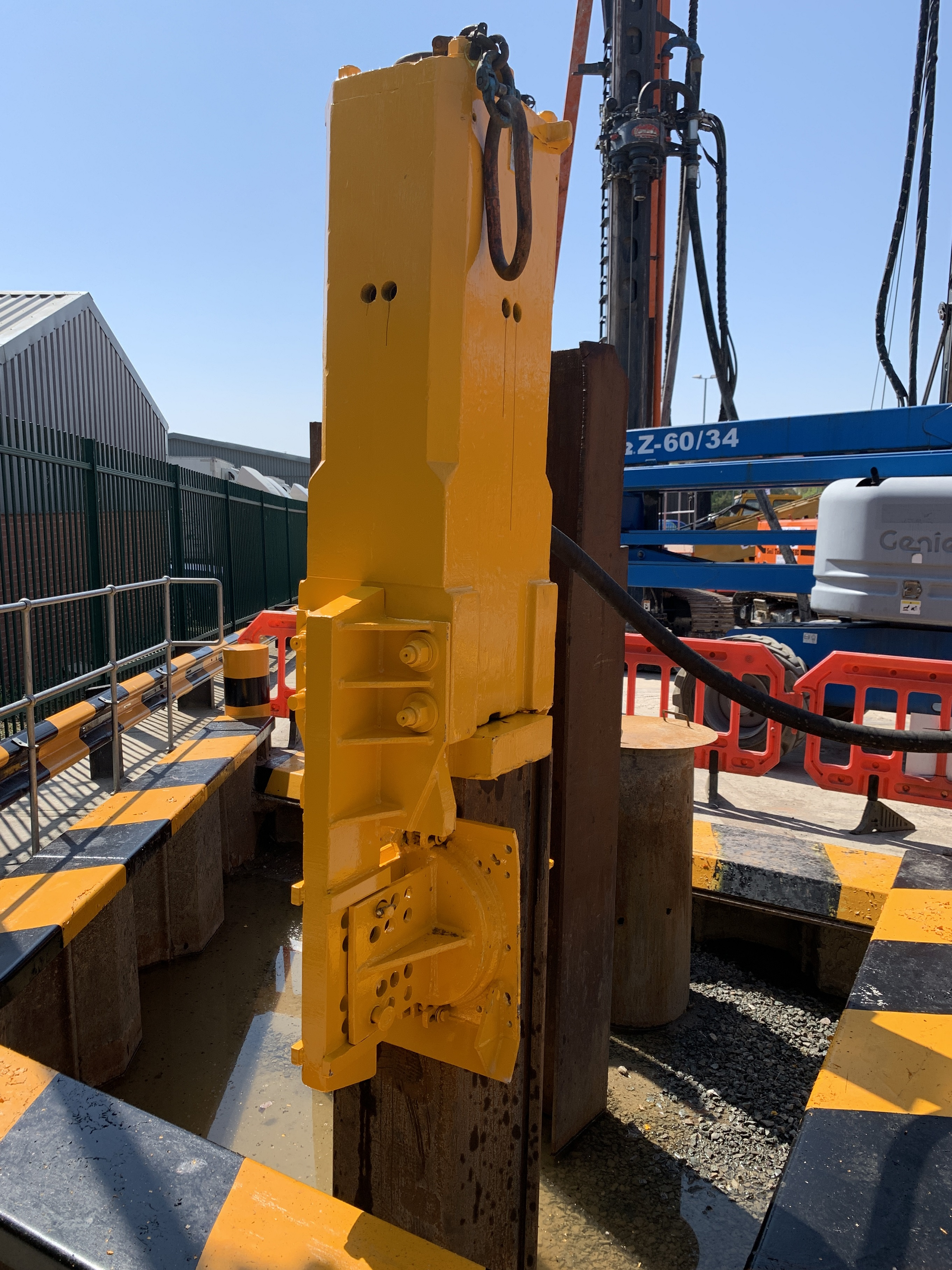 Used piling hammers for sale