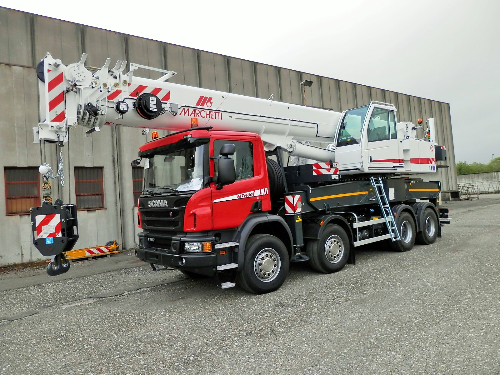 Marchetti truck cranes