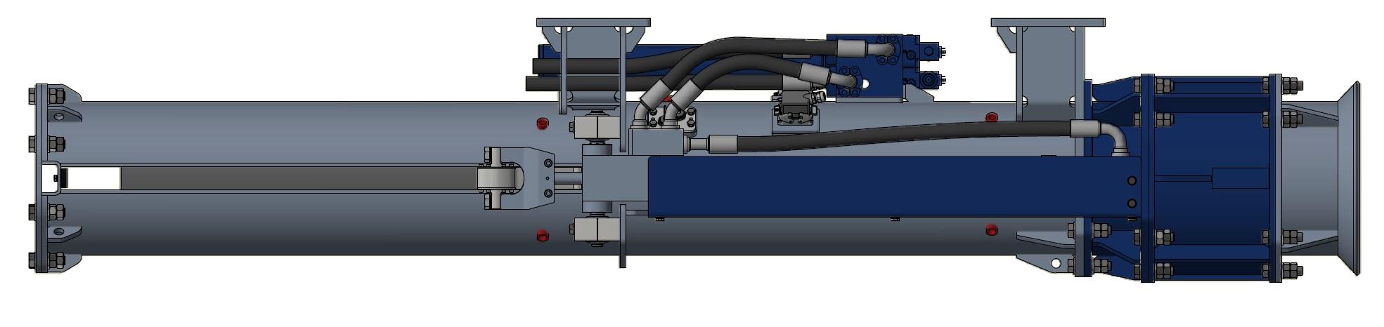 INPIEQ hydraulic impact hammer