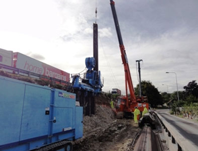 Silent Piling Equipment